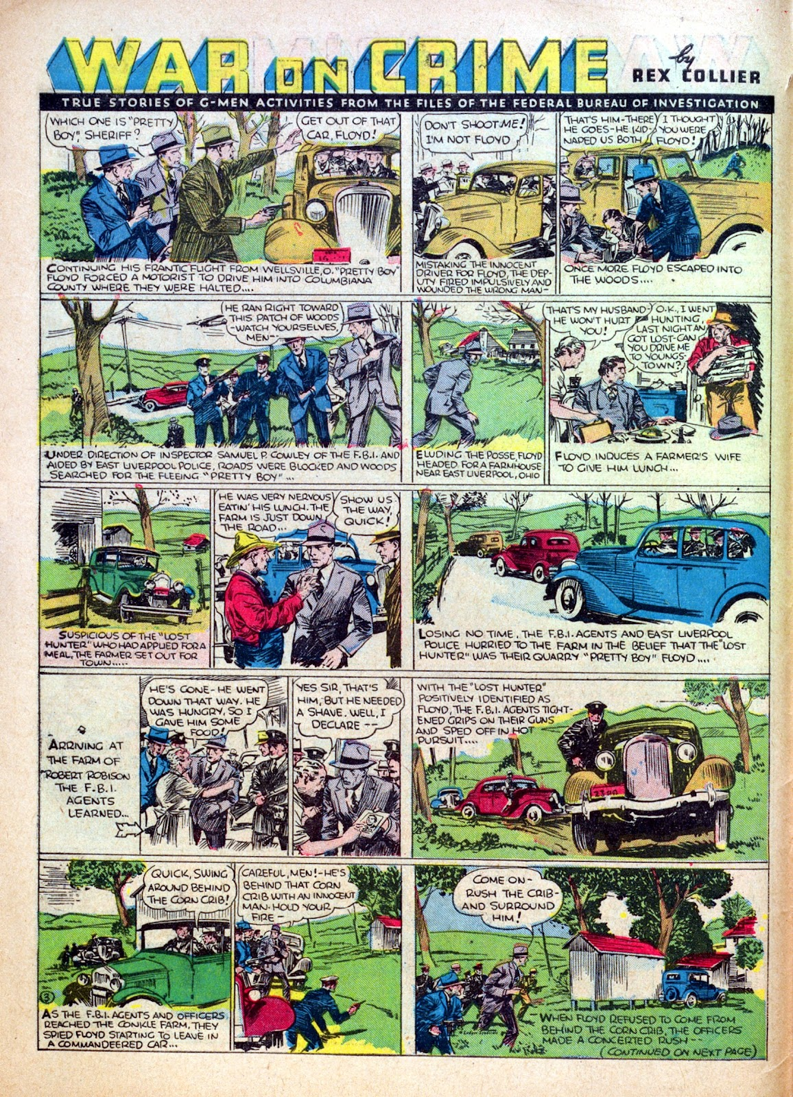 Read online Famous Funnies comic -  Issue #30 - 8