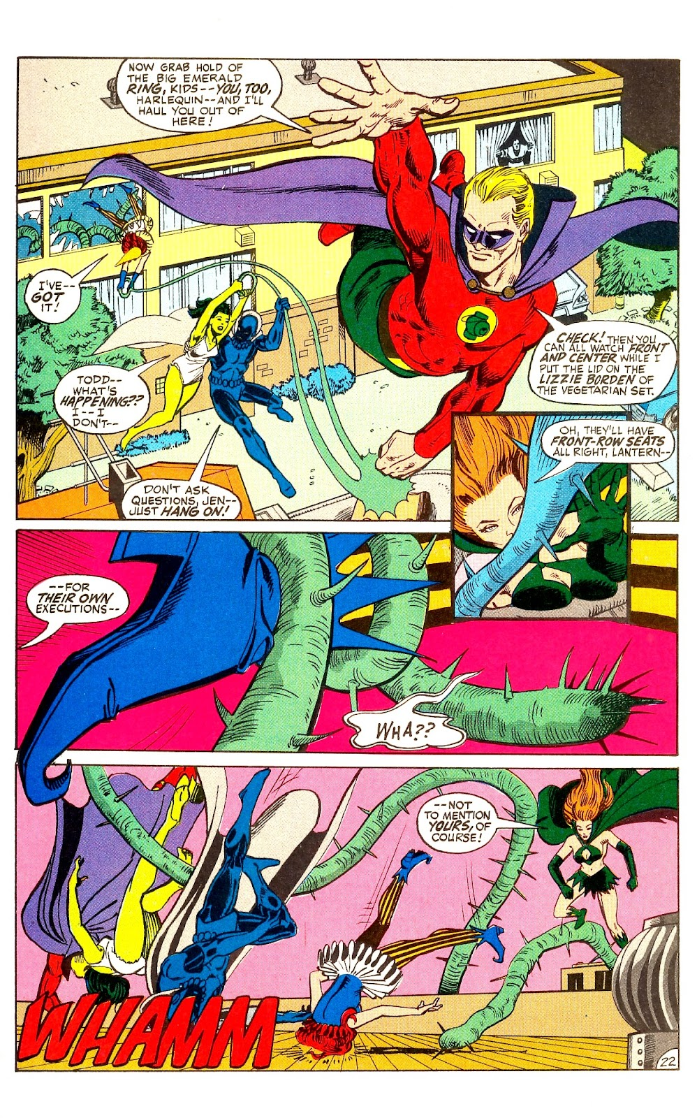 Infinity Inc. (1984) issue Annual 1 - Page 26