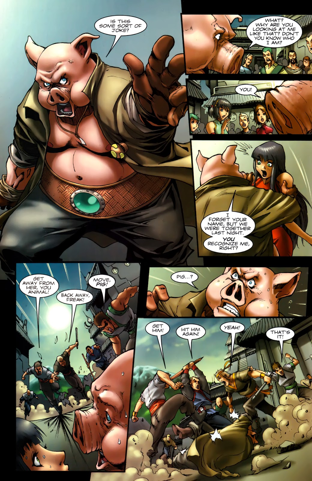Read online Xin: Journey of the Monkey King comic -  Issue #2 - 11