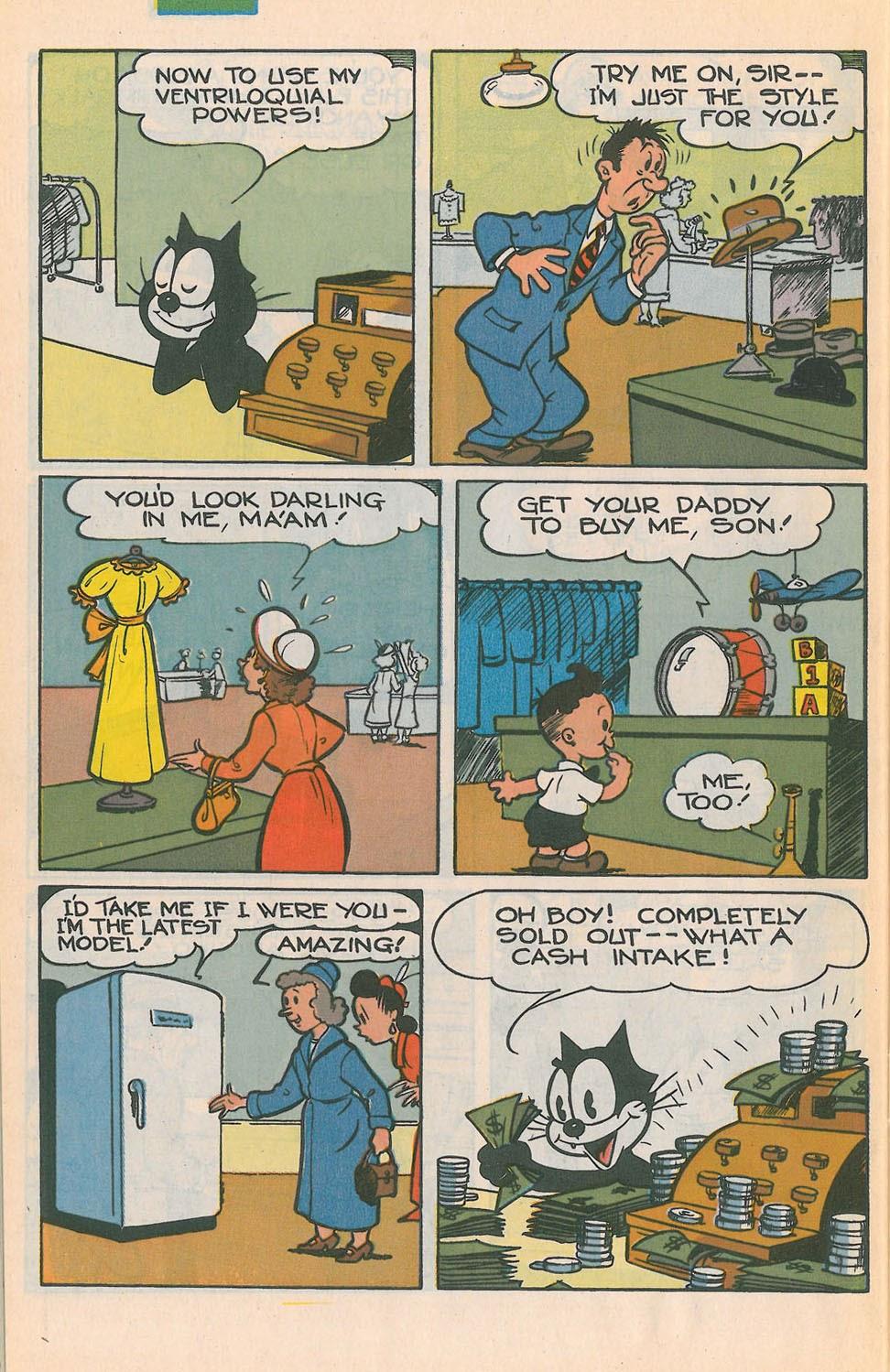 Read online Felix the Cat comic -  Issue #4 - 29
