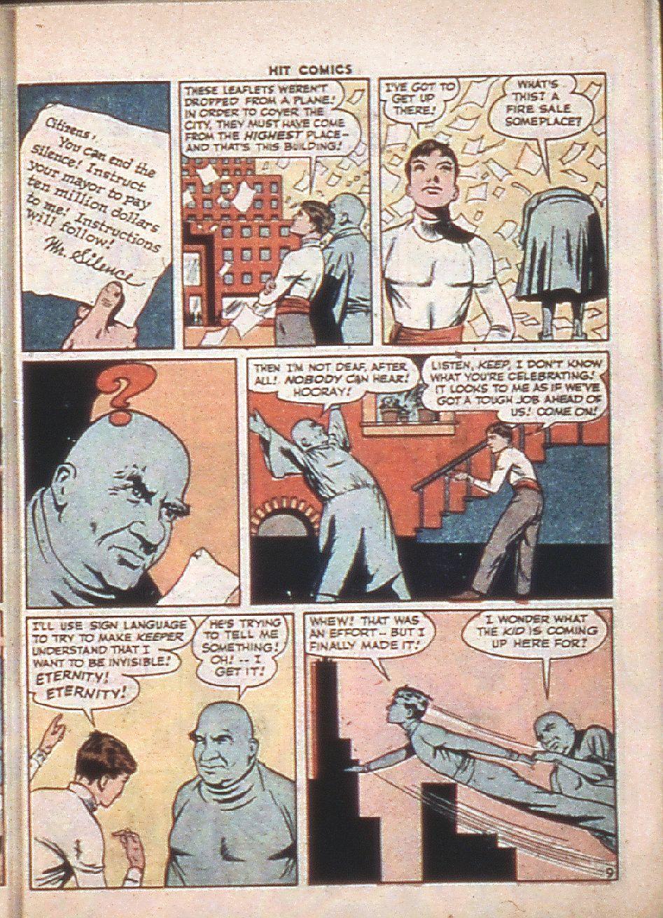 Read online Hit Comics comic -  Issue #37 - 11