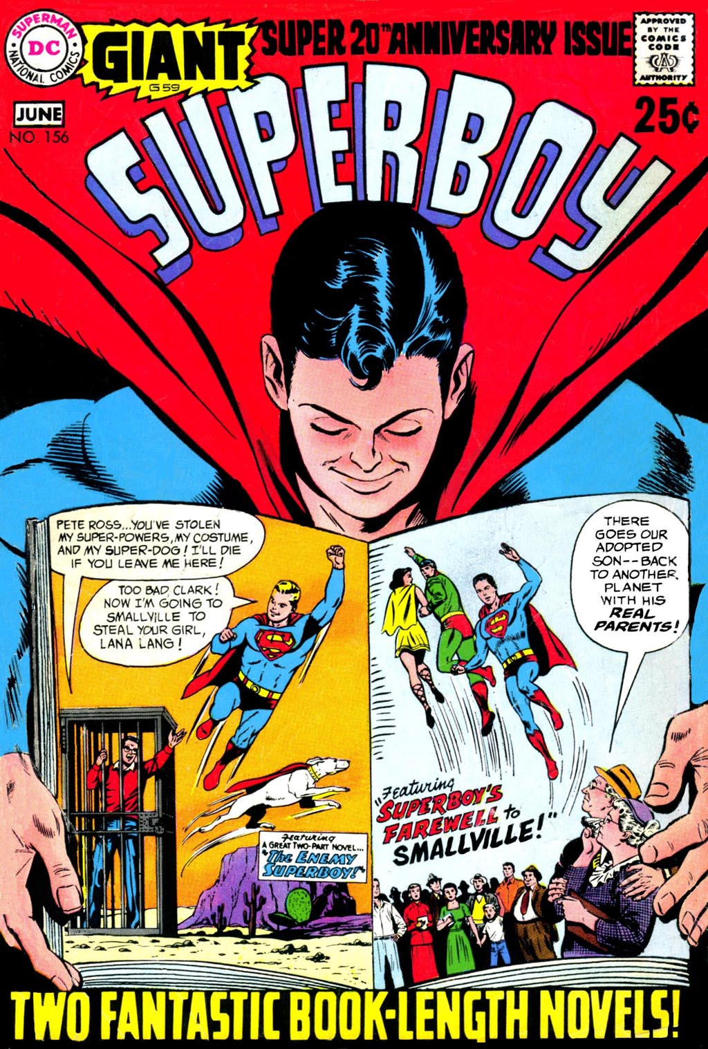 Superboy (1949) issue 156 - Page 1