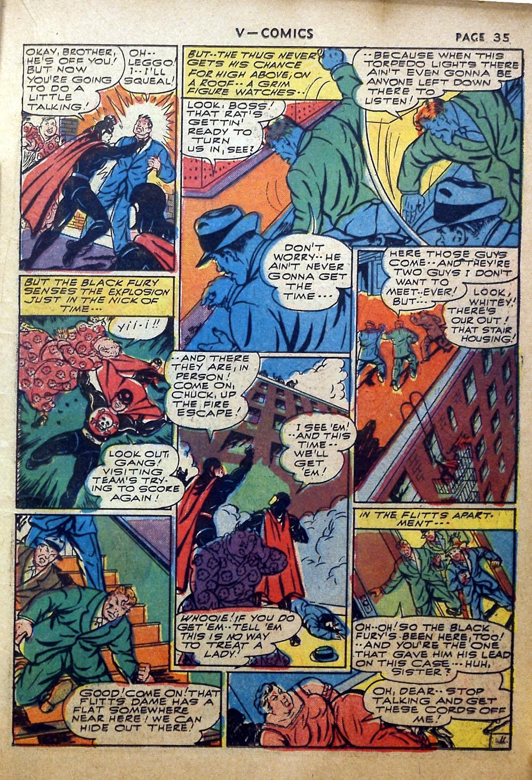 Read online V...- Comics comic -  Issue #2 - 36