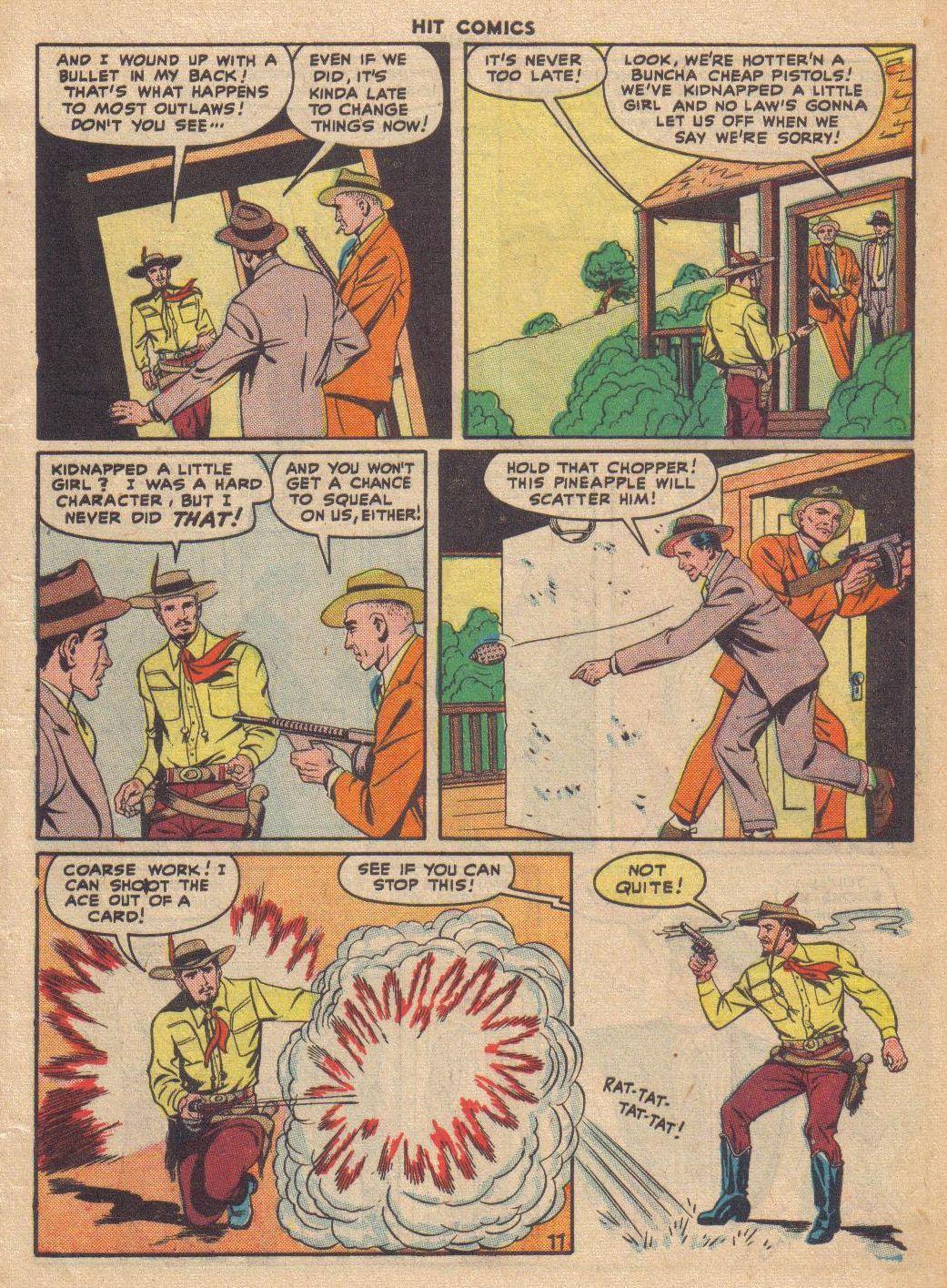 Read online Hit Comics comic -  Issue #46 - 13