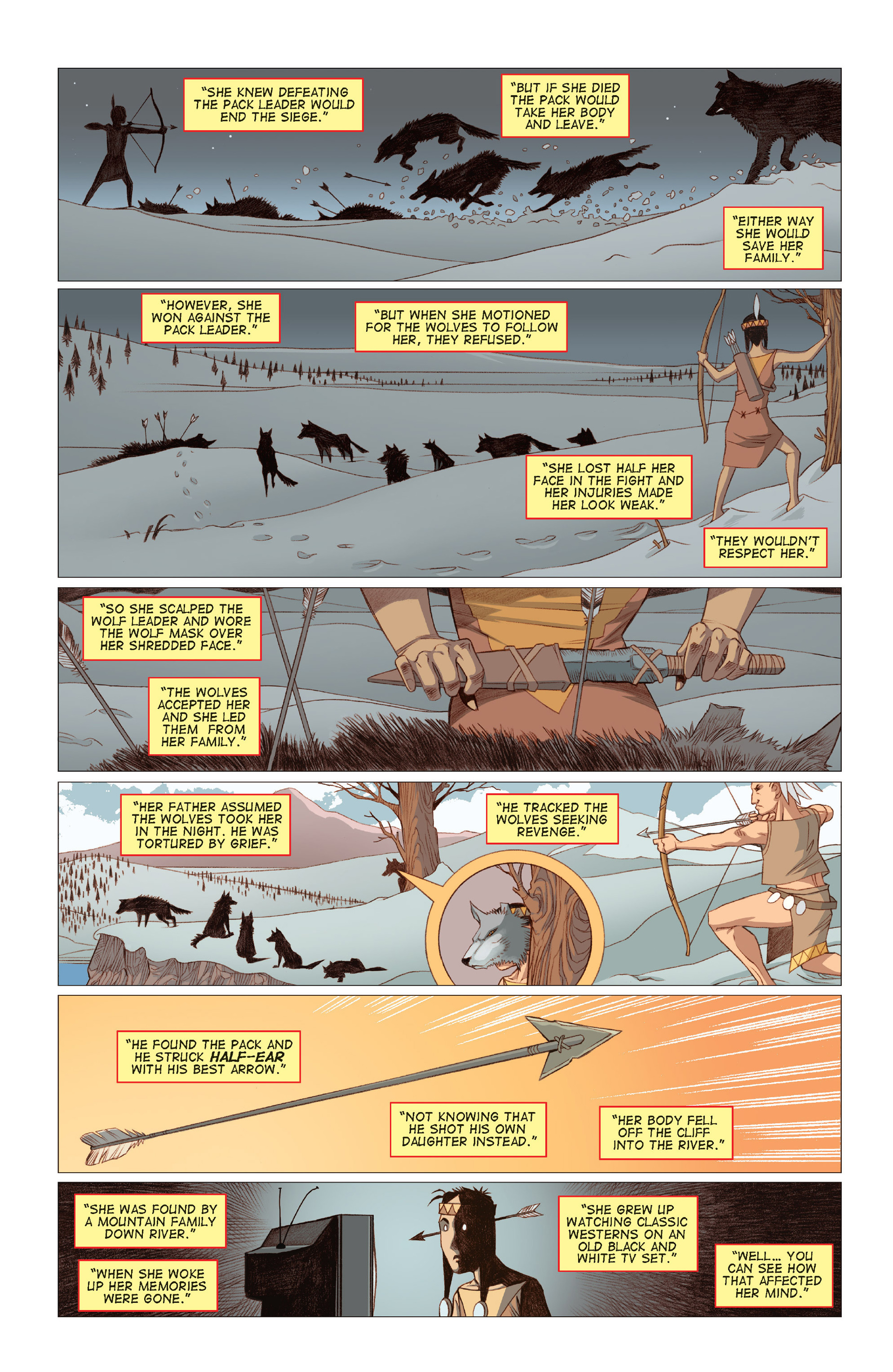 Read online Five Weapons comic -  Issue #8 - 9