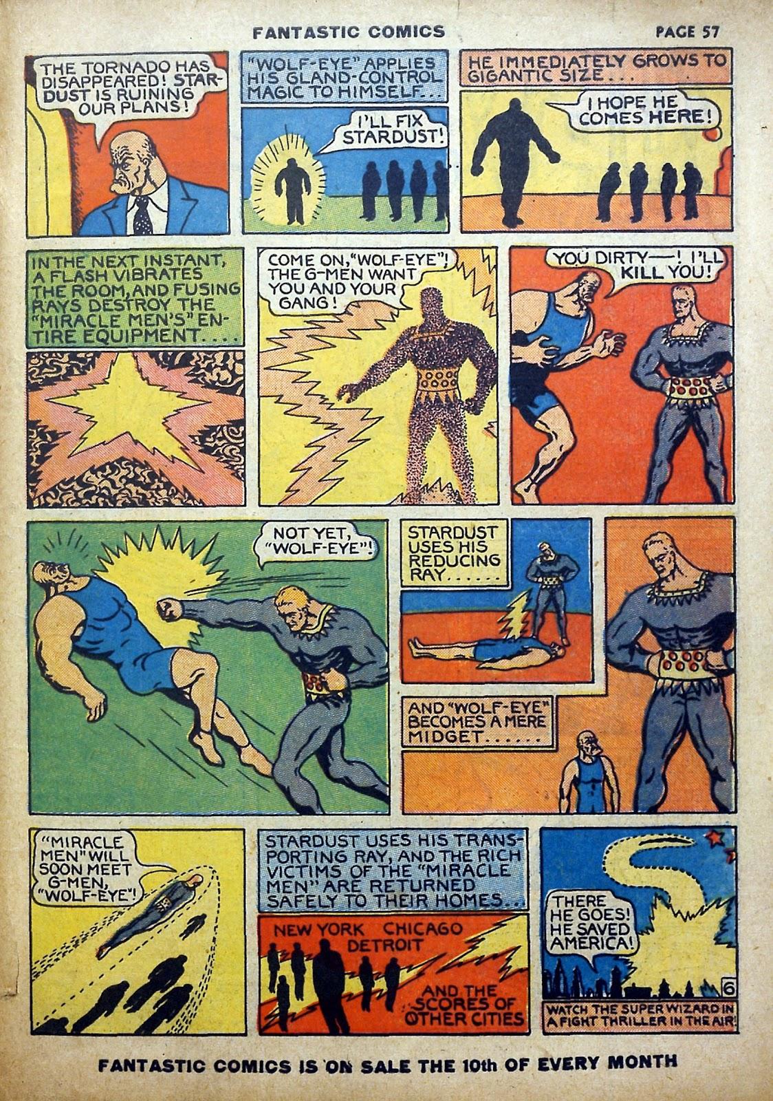 Read online Fantastic Comics comic -  Issue #5 - 58