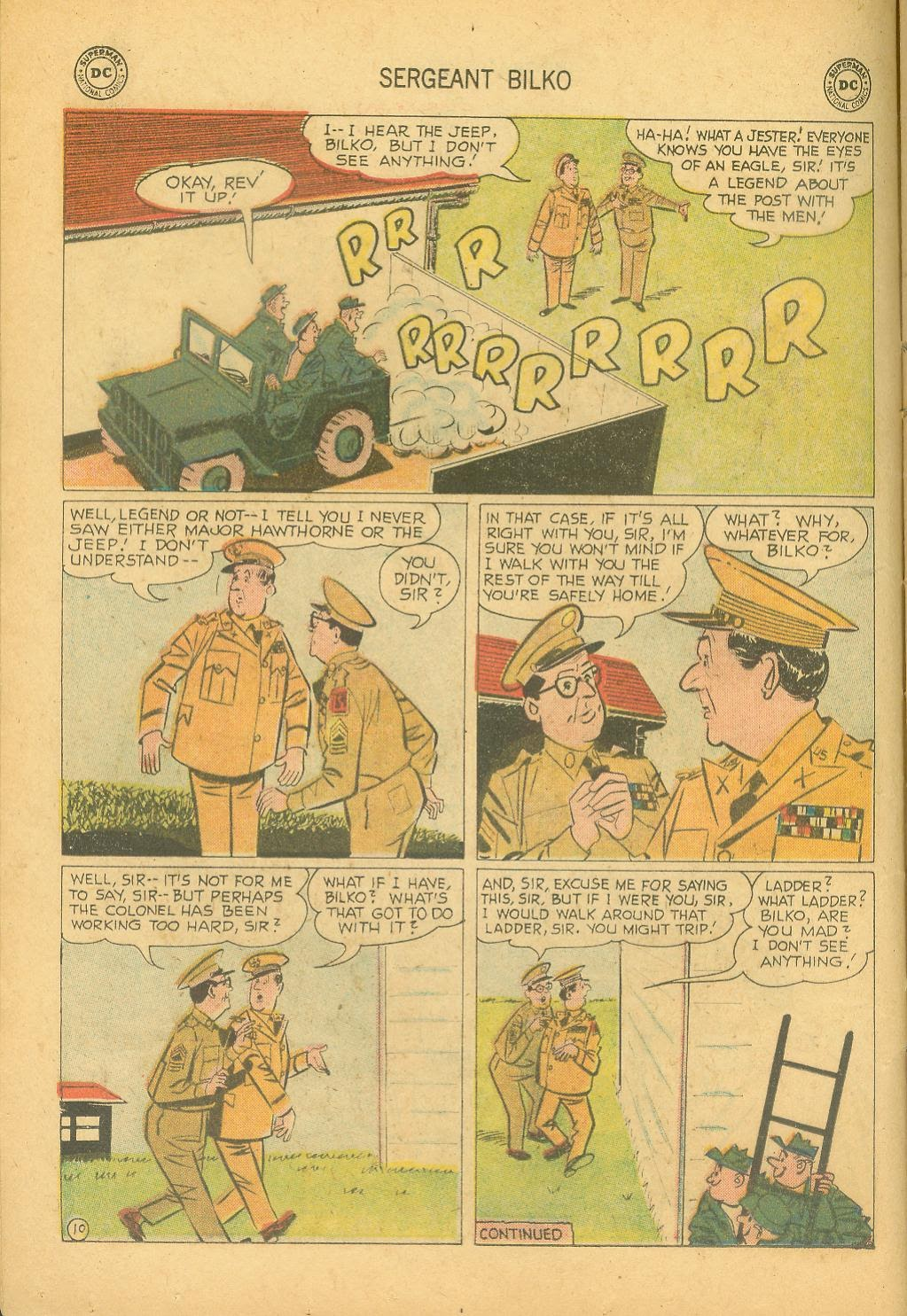 Sergeant Bilko issue 8 - Page 12