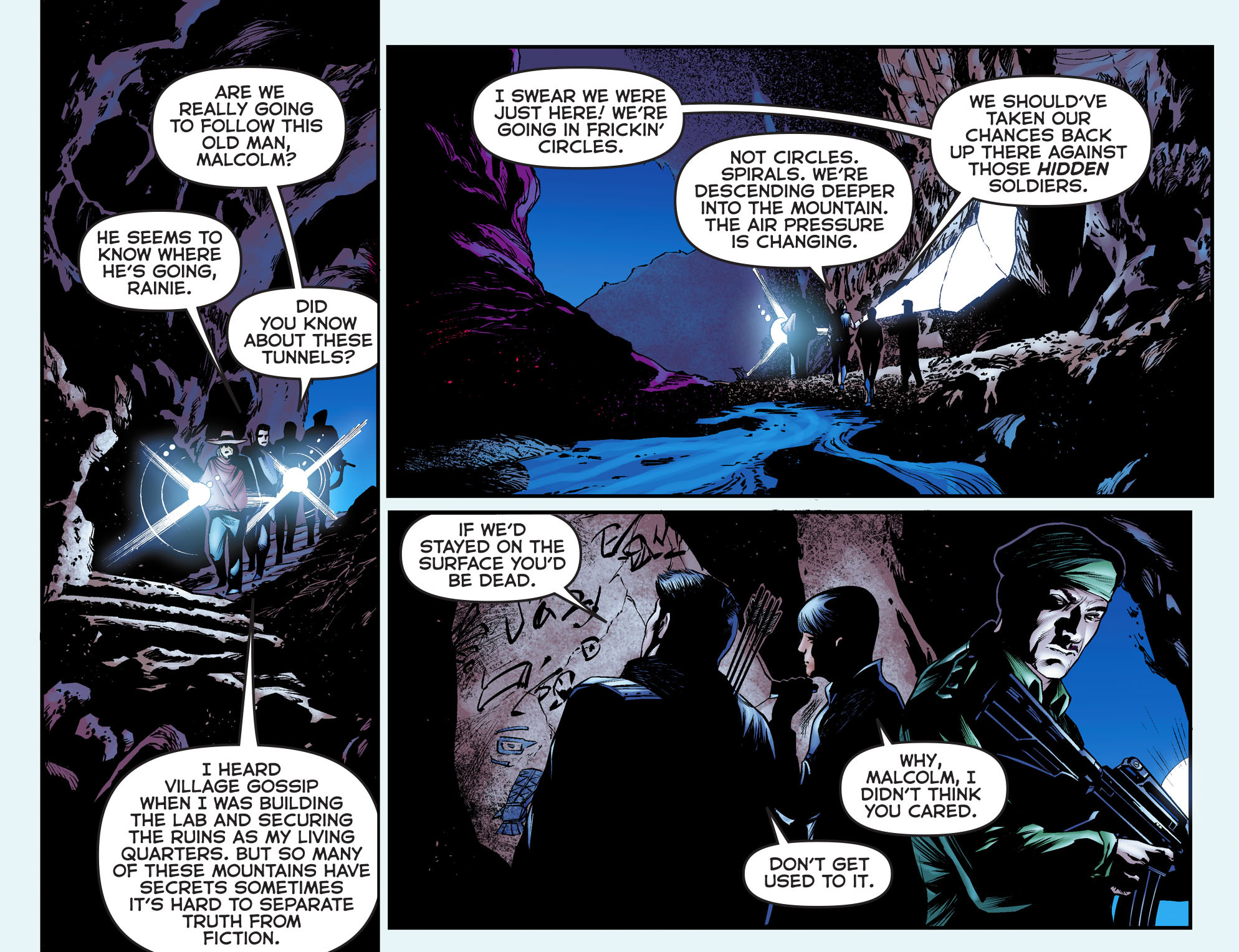Read online Arrow: The Dark Archer comic -  Issue #3 - 9