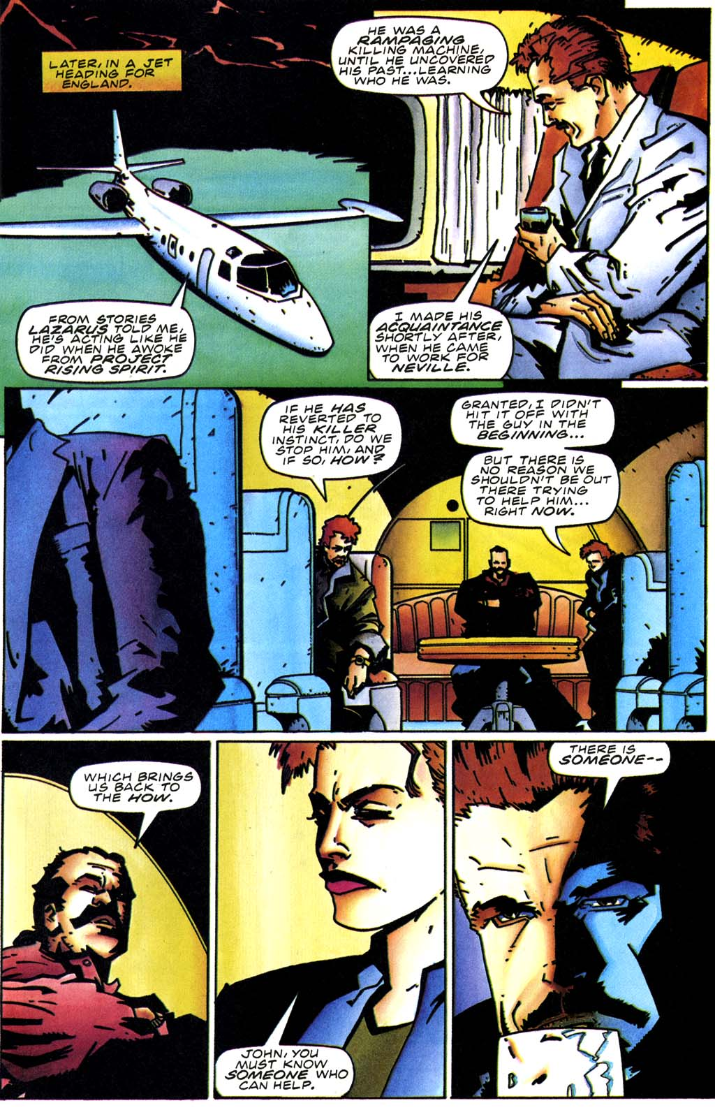 Read online Secret Weapons comic -  Issue #20 - 7