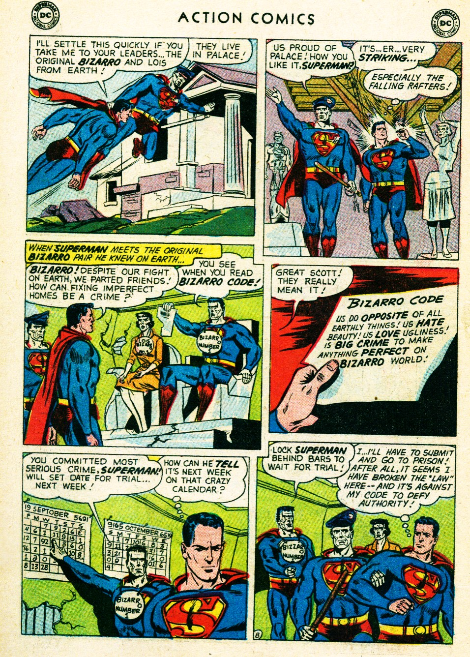 Read online Action Comics (1938) comic -  Issue #263 - 10