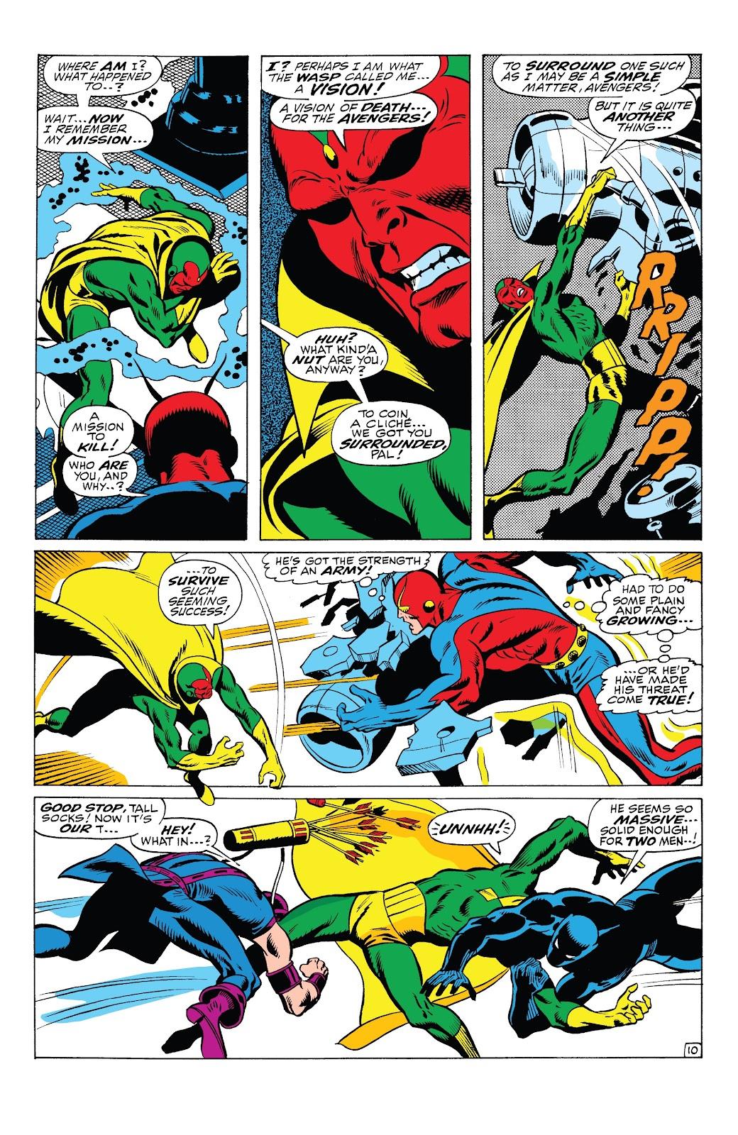 Read online Marvel Tales: Avengers comic -  Issue # Full - 36