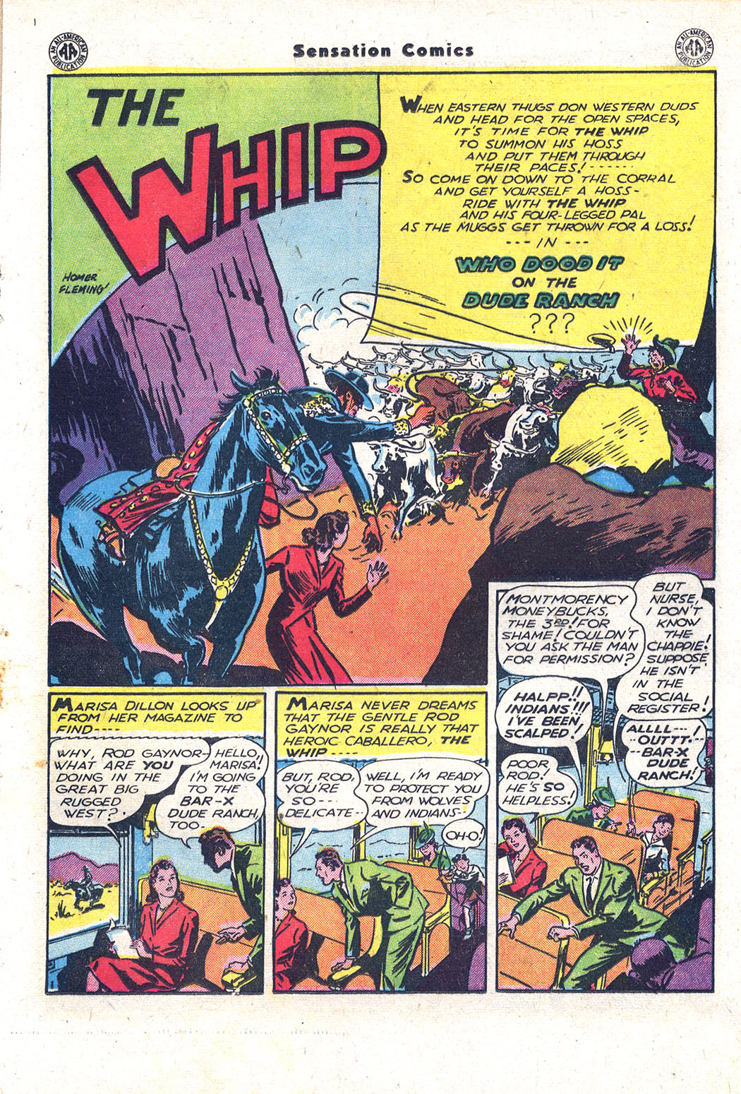 Read online Sensation (Mystery) Comics comic -  Issue #43 - 24