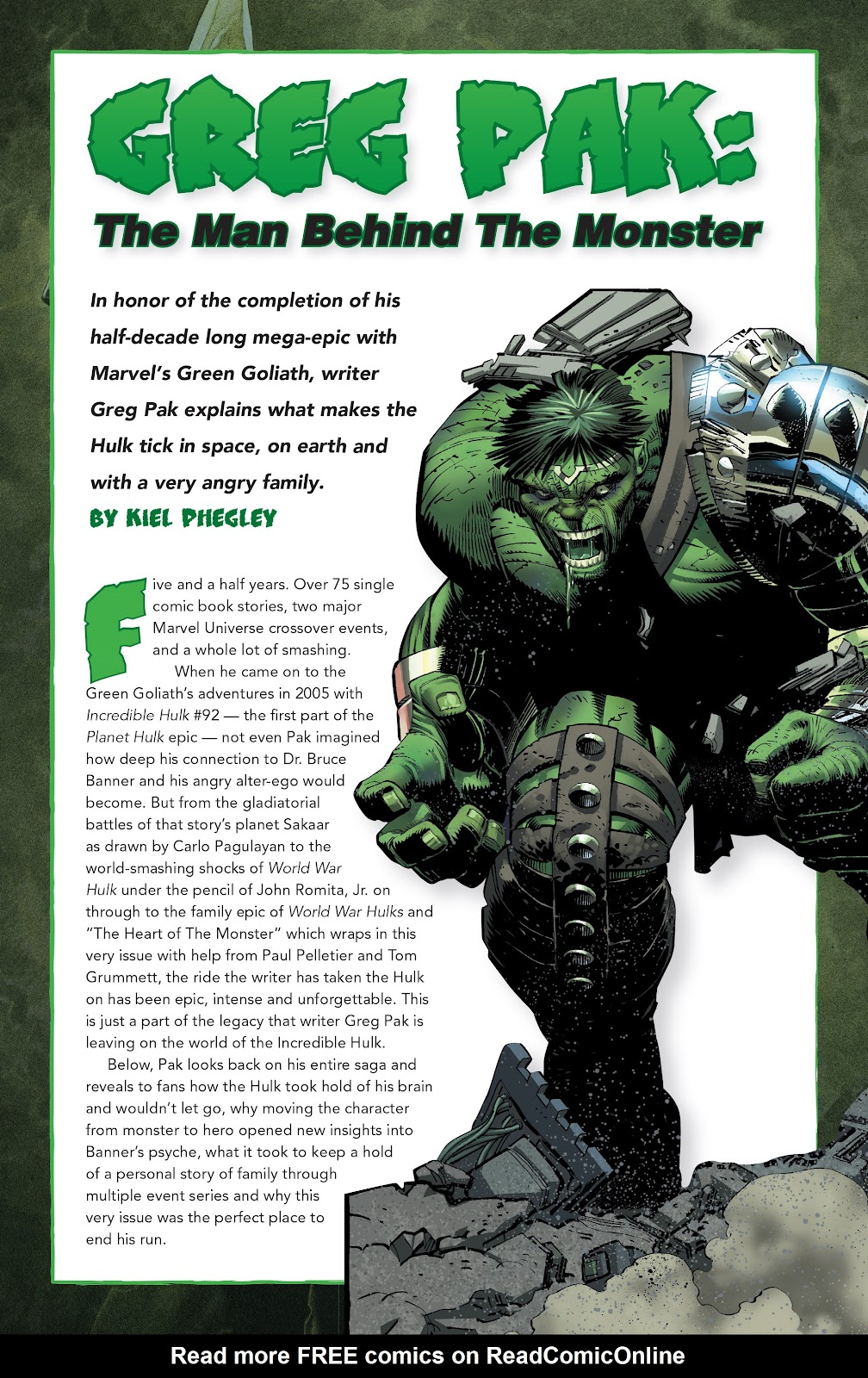 Read online Incredible Hulks (2010) comic -  Issue # _TPB Heart of the Monster - 139