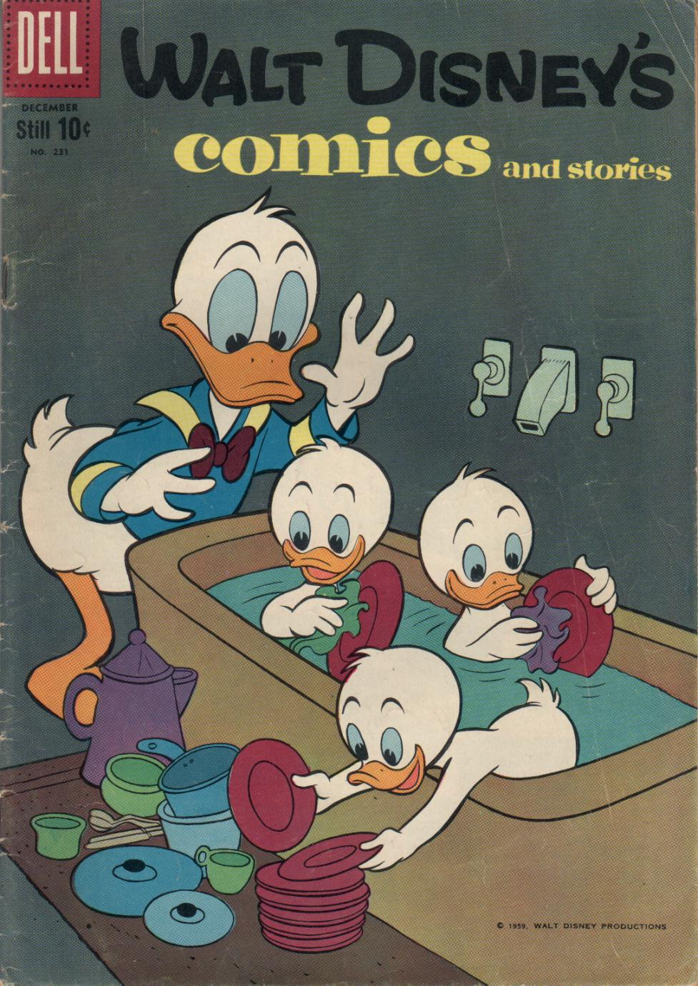 Walt Disney's Comics and Stories issue 231 - Page 1