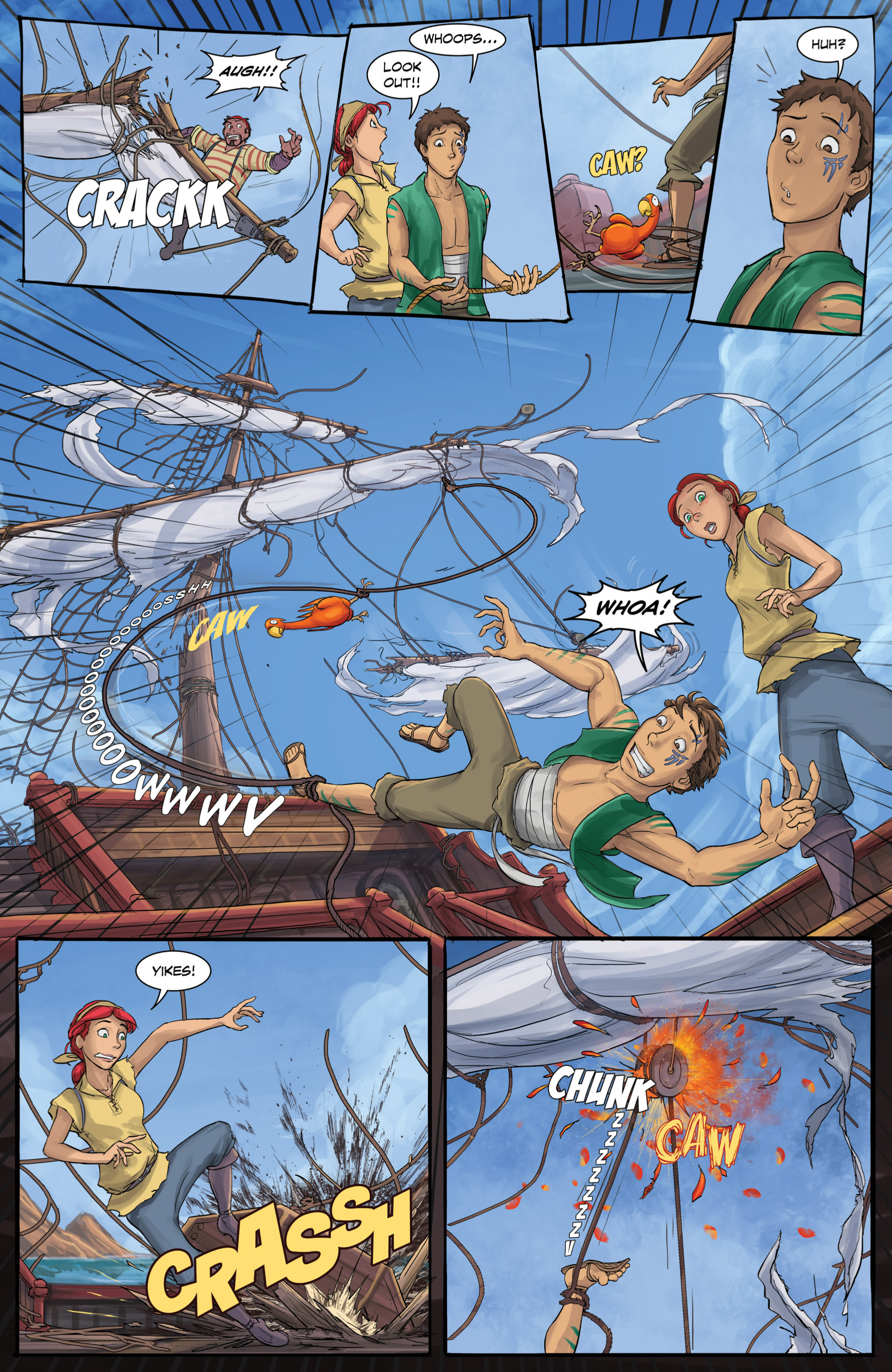 Read online Anne Bonnie comic -  Issue #4 - 8