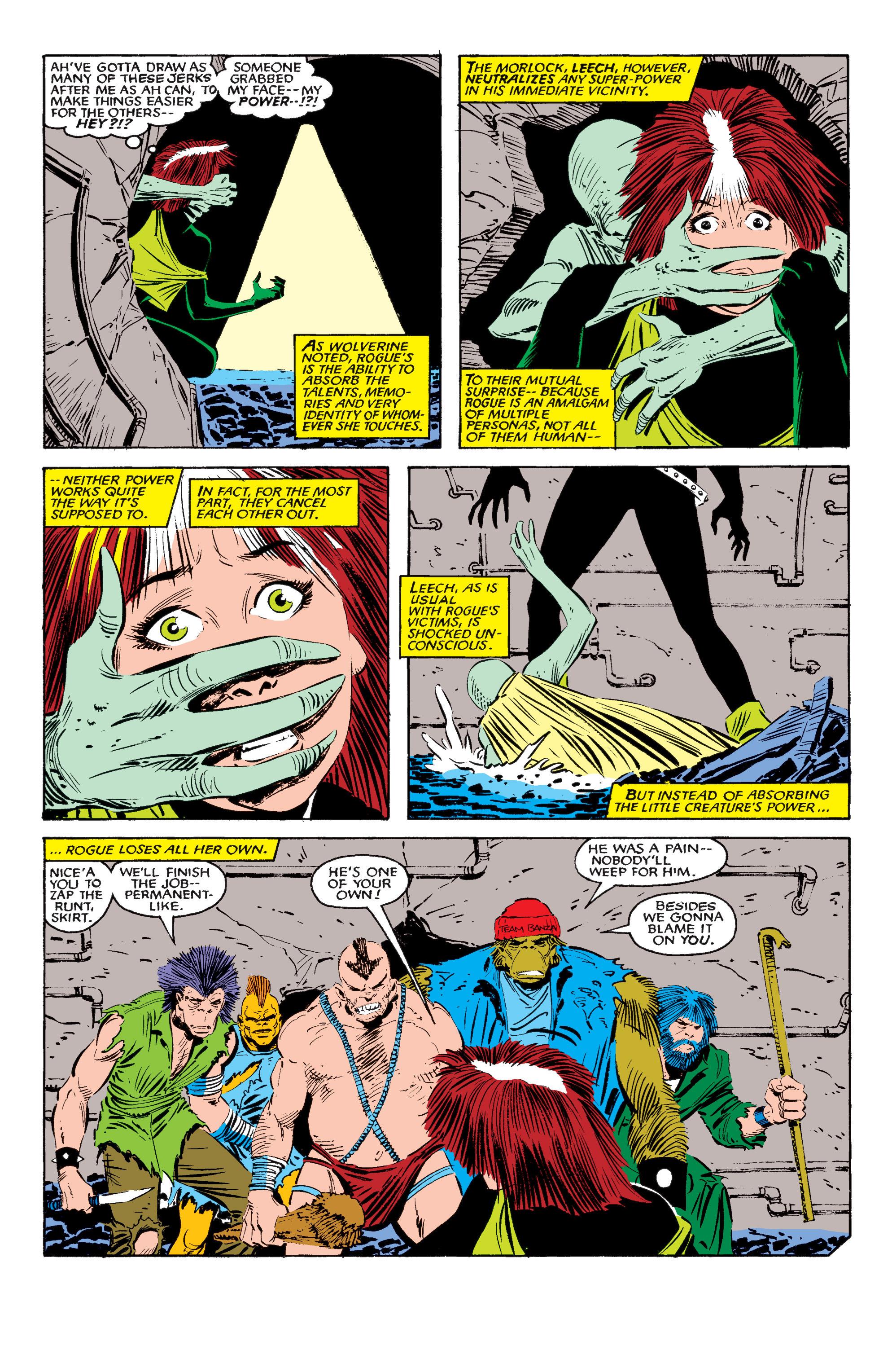 Read online Uncanny X-Men (1963) comic -  Issue #195 - 18