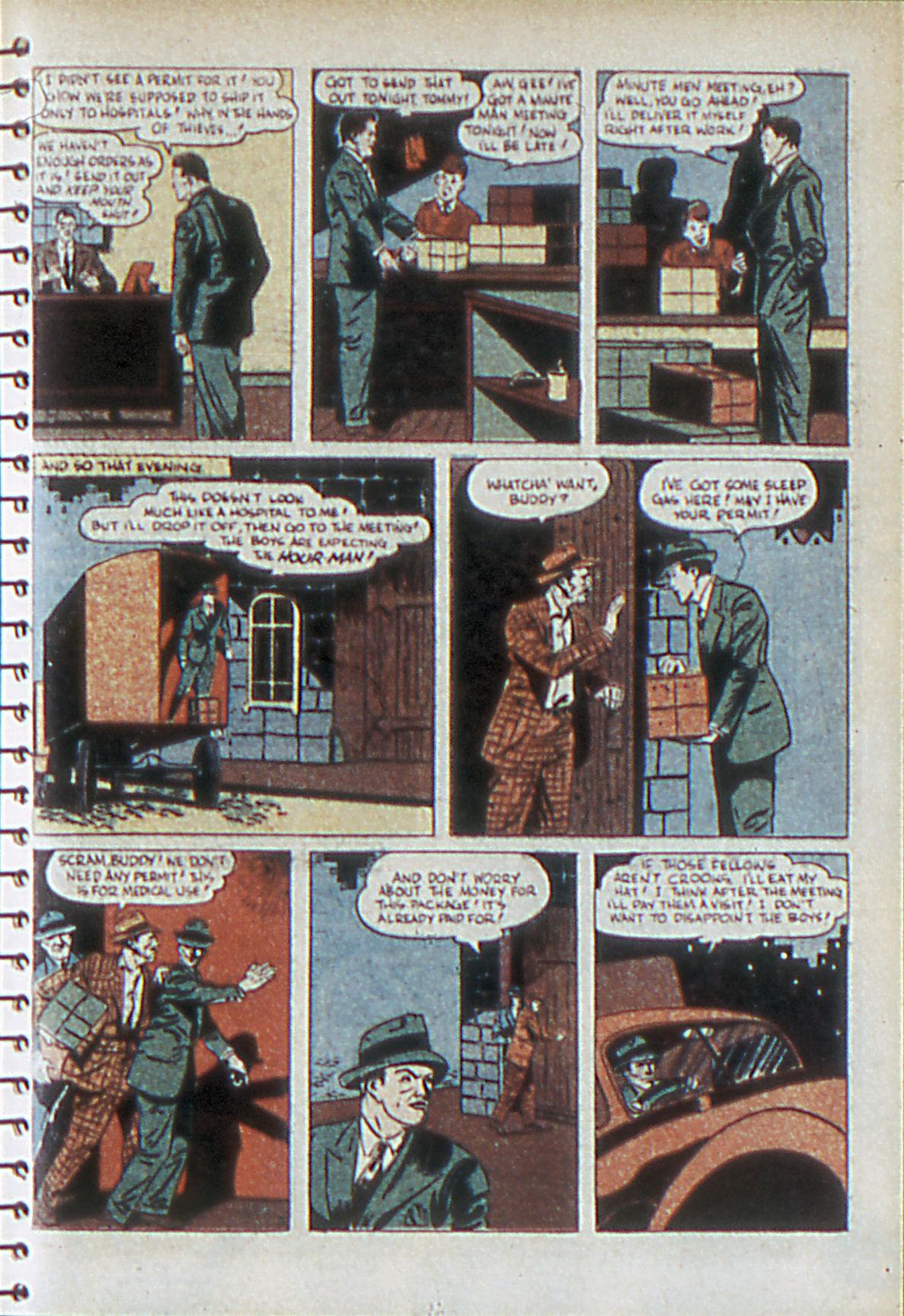 Read online Adventure Comics (1938) comic -  Issue #55 - 6