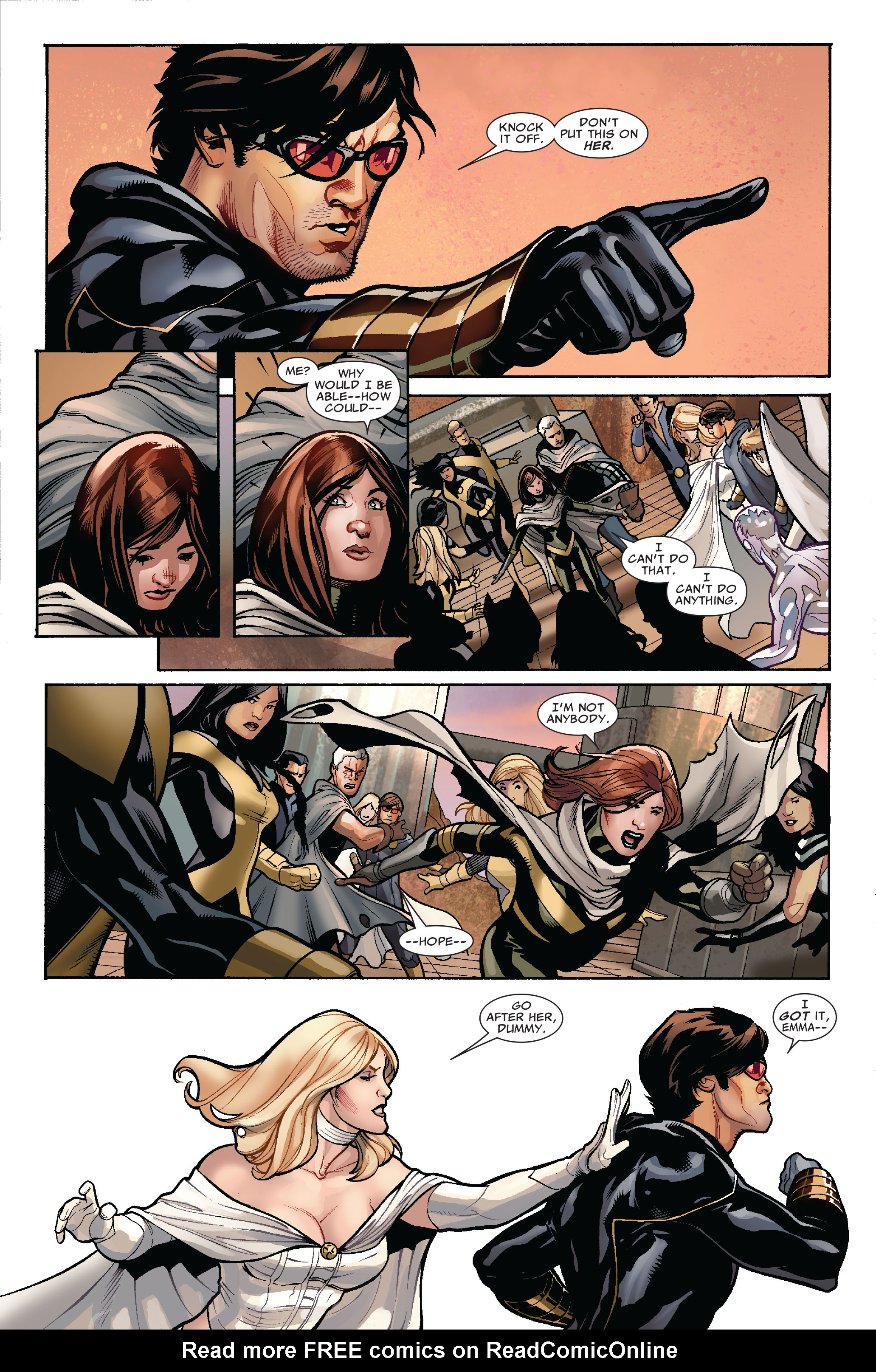 Read online Uncanny X-Men (1963) comic -  Issue #524 - 6