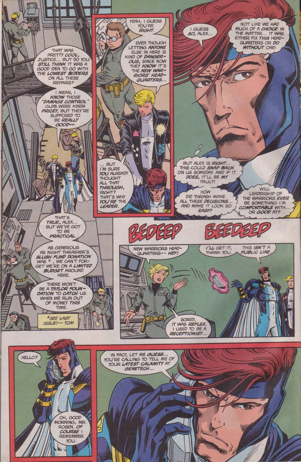 The New Warriors Issue #61 #65 - English 8