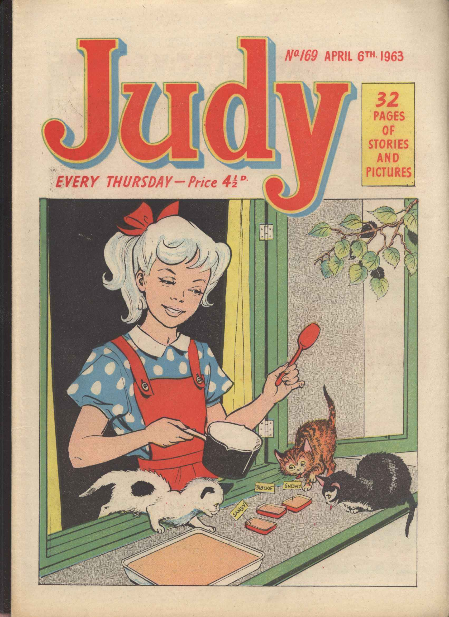 Read online Judy comic -  Issue #169 - 1