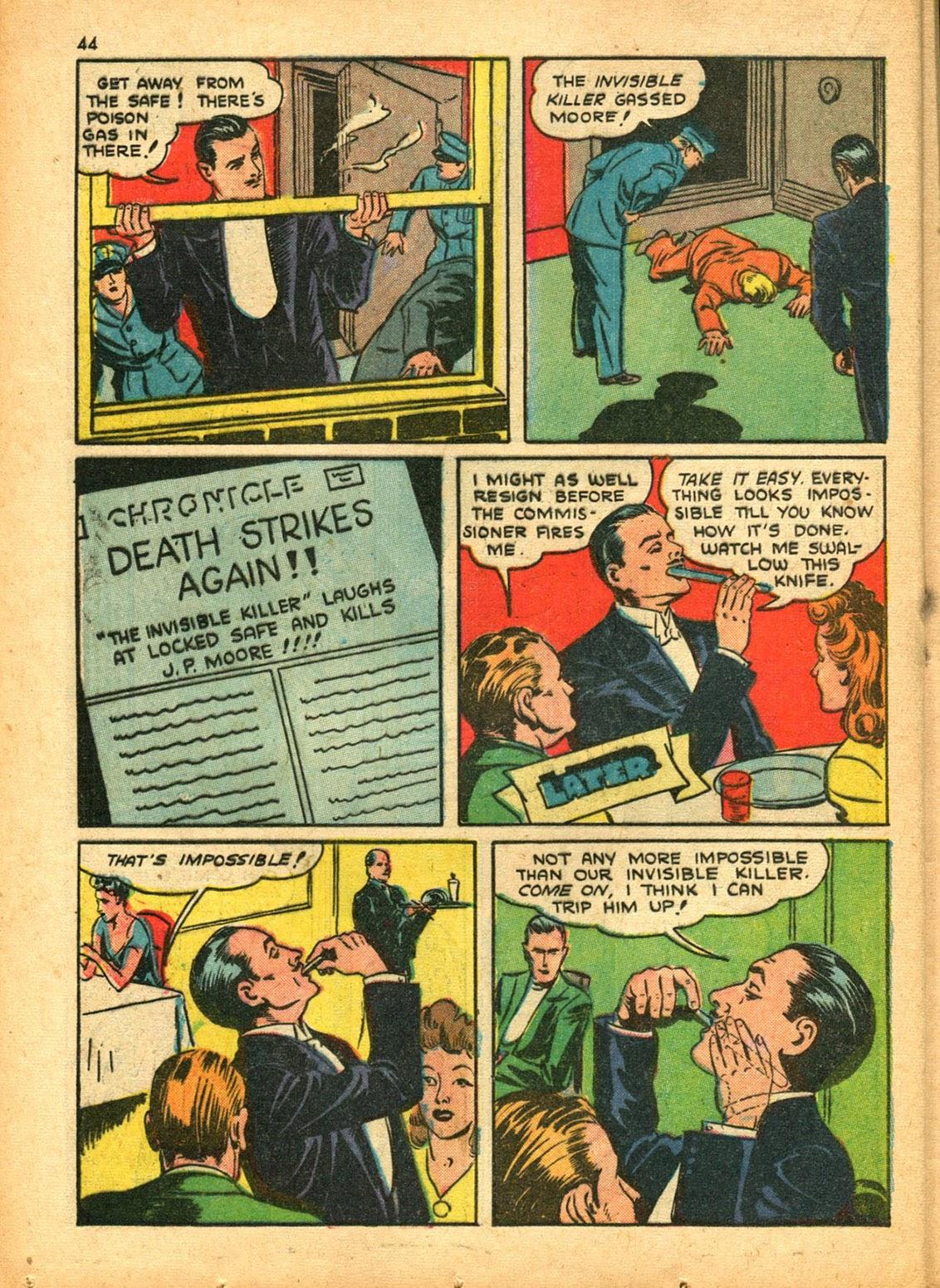 Read online Super-Magician Comics comic -  Issue #15 - 43