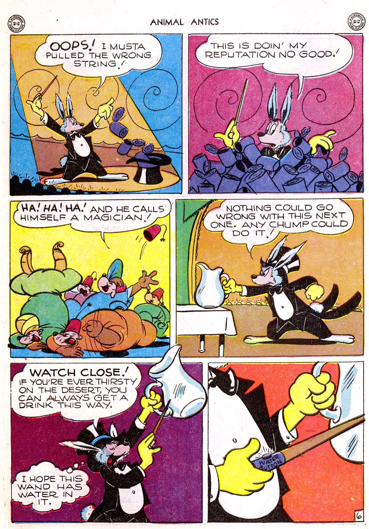 Read online Animal Antics comic -  Issue #1 - 8