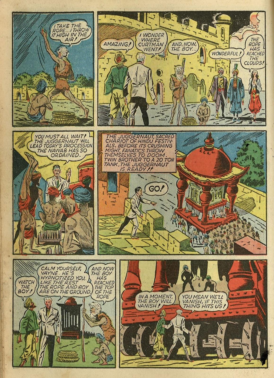 Read online Super-Magician Comics comic -  Issue #1 - 18