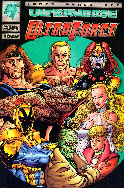 Read online UltraForce (1994) comic -  Issue #0 - 1