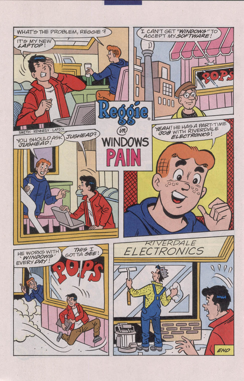 Read online Archie (1960) comic -  Issue #543 - 26
