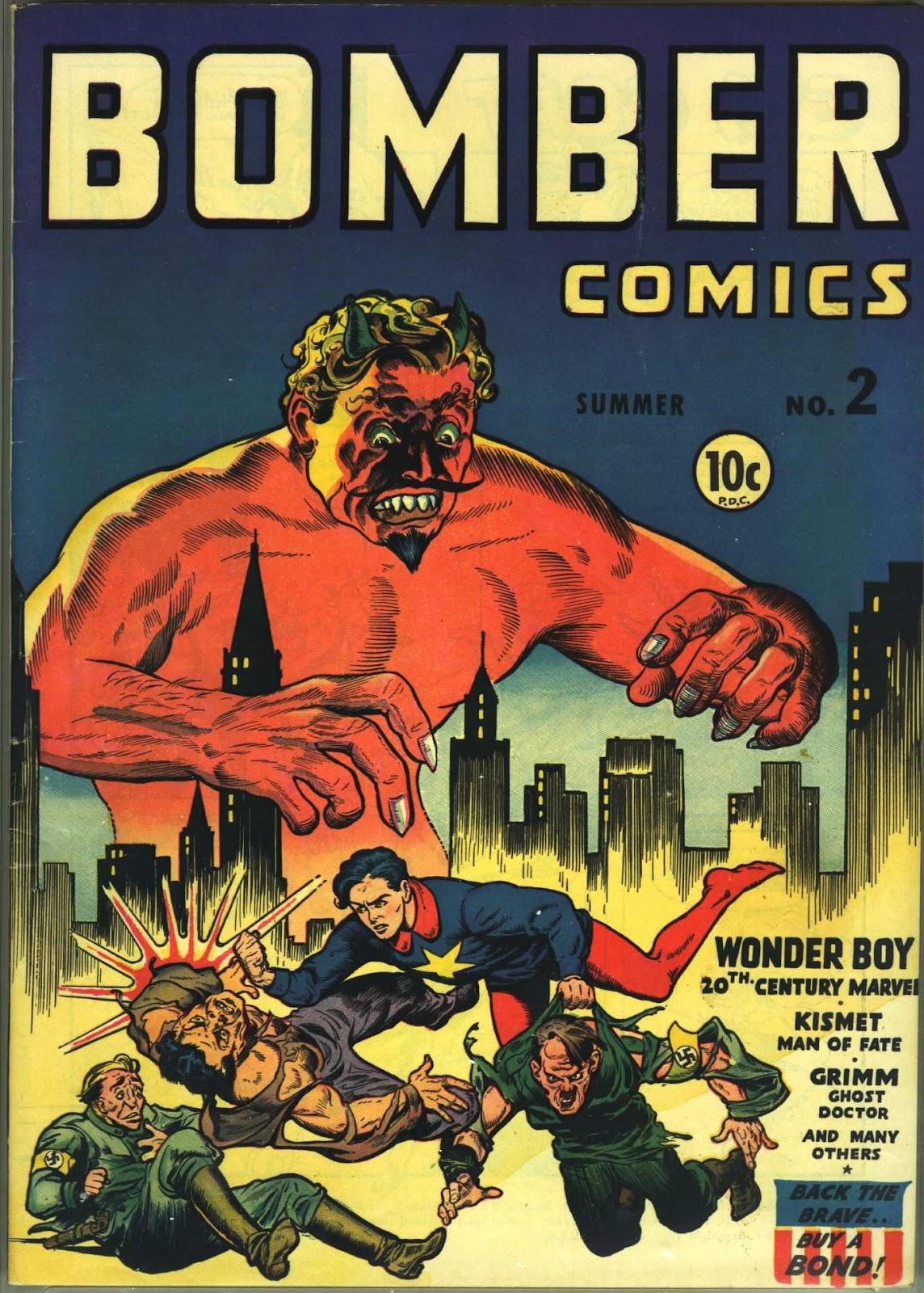 Bomber Comics 2 Page 1