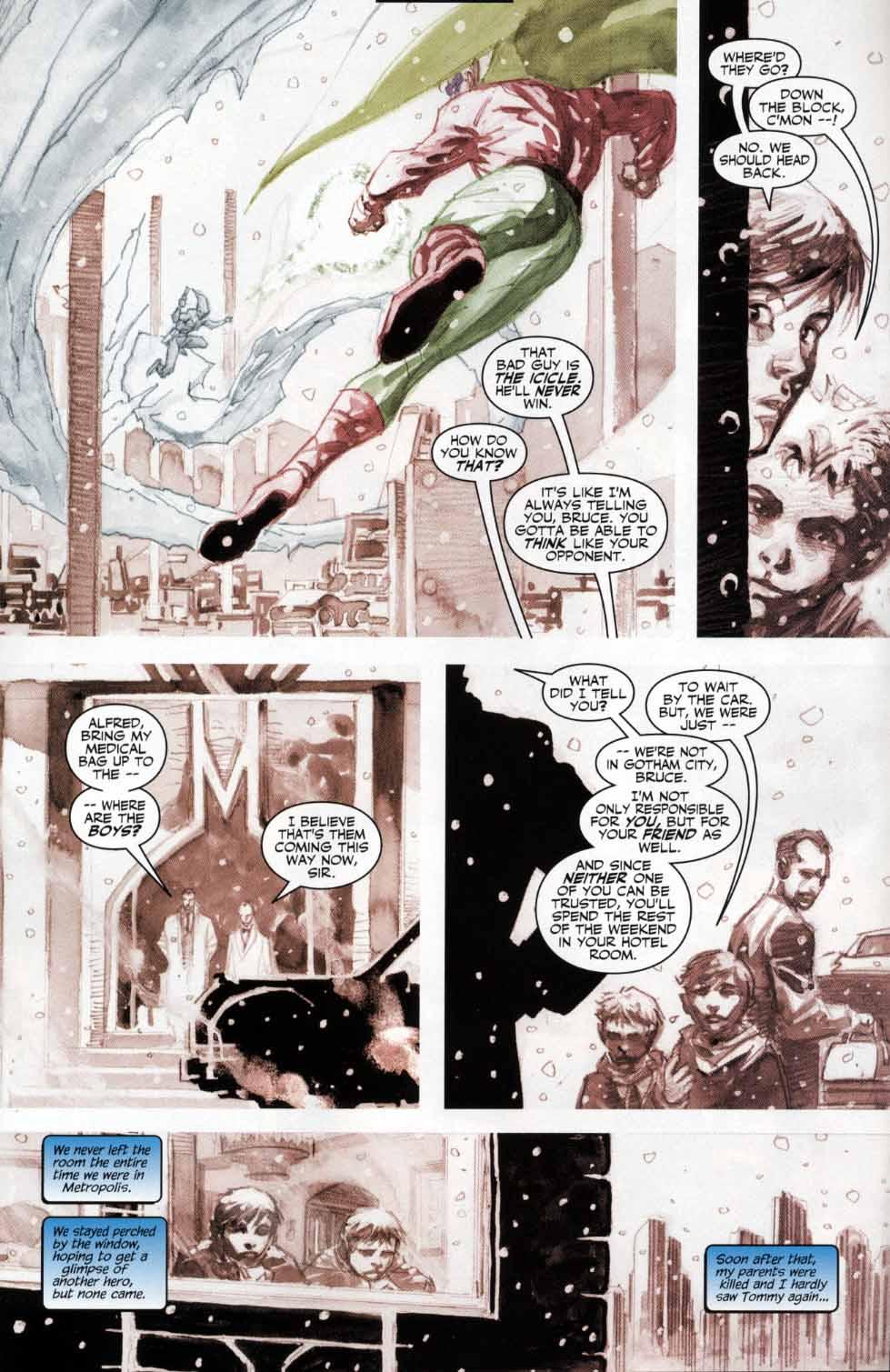 Read online Batman: Hush comic -  Issue #4 - 7