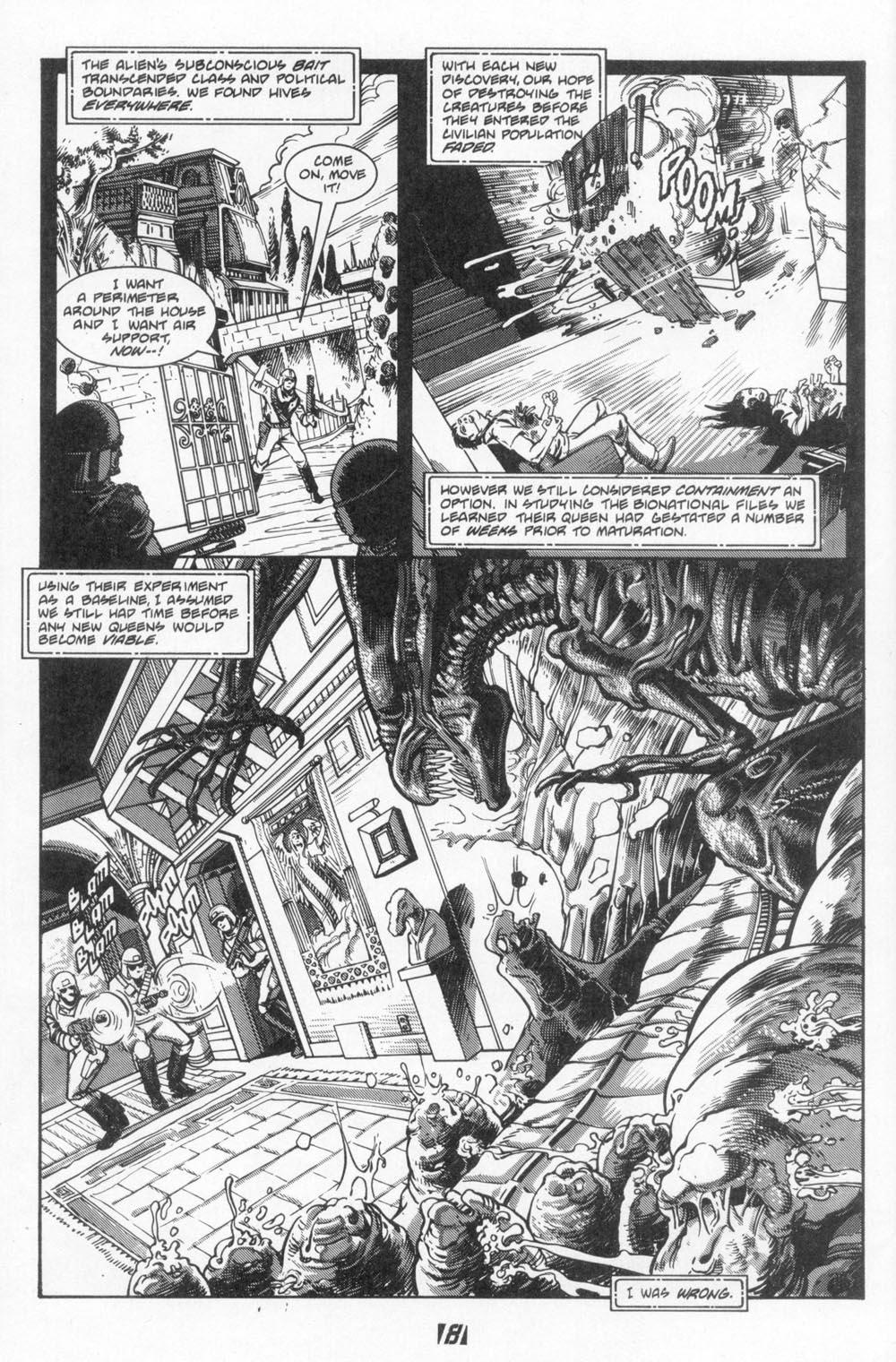 Read online Aliens (1988) comic -  Issue #6 - 10