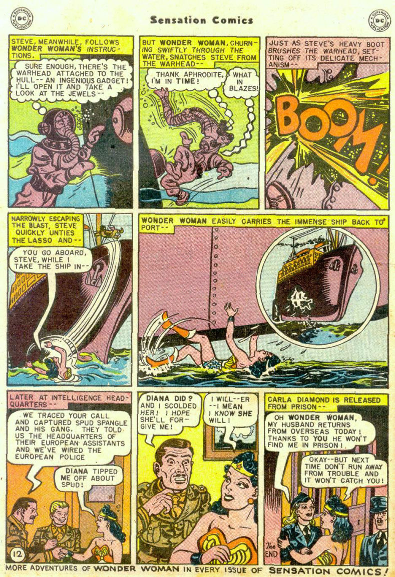 Read online Sensation (Mystery) Comics comic -  Issue #74 - 14