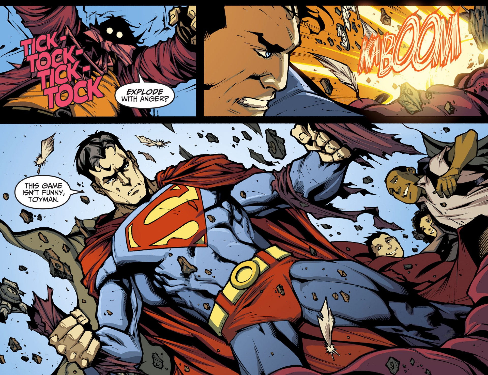 Read online Adventures of Superman [I] comic -  Issue #34 - 4