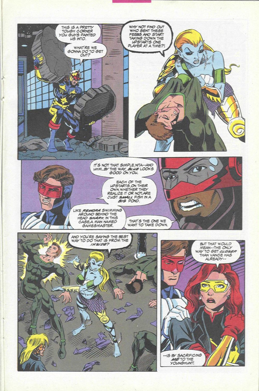 The New Warriors Issue #45 #49 - English 19