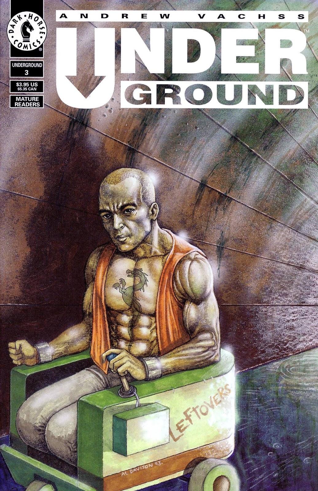 Andrew Vachss Underground 3 Page 1