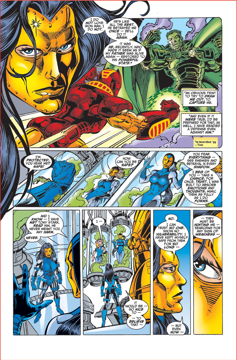 Read online Avengers (1998) comic -  Issue #32 - 16