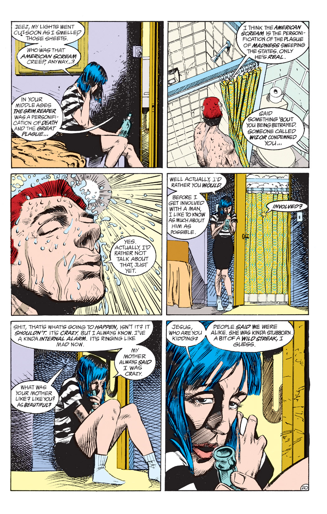 Read online Shade, the Changing Man comic -  Issue #4 - 22