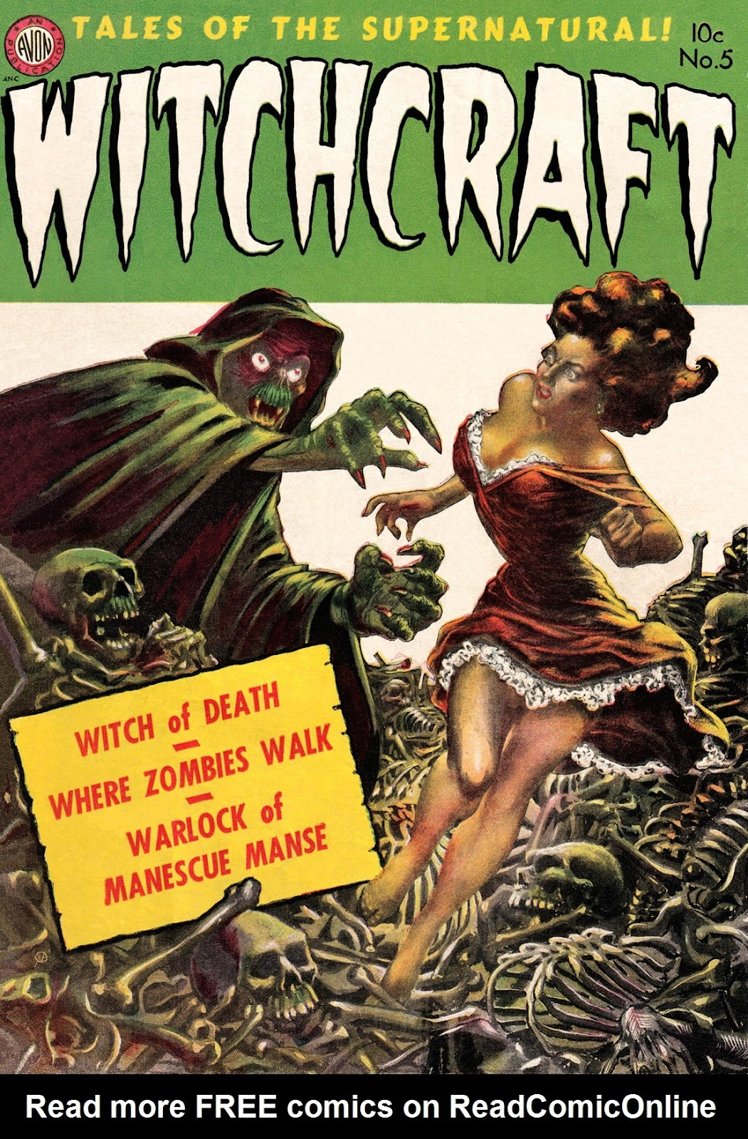 Witchcraft (1952) issue 5 - Page 1
