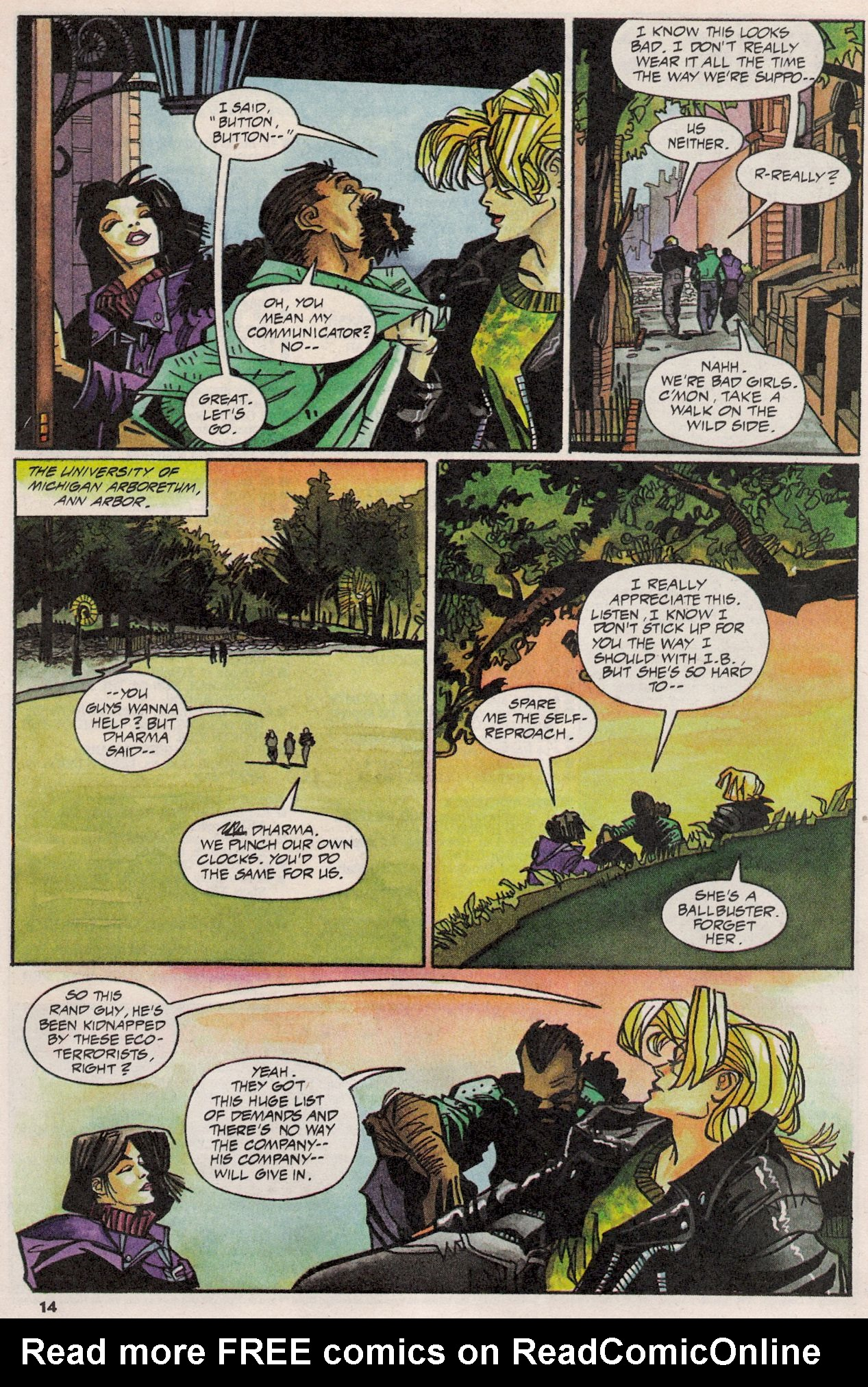 Read online Shadow Cabinet comic -  Issue #3 - 10