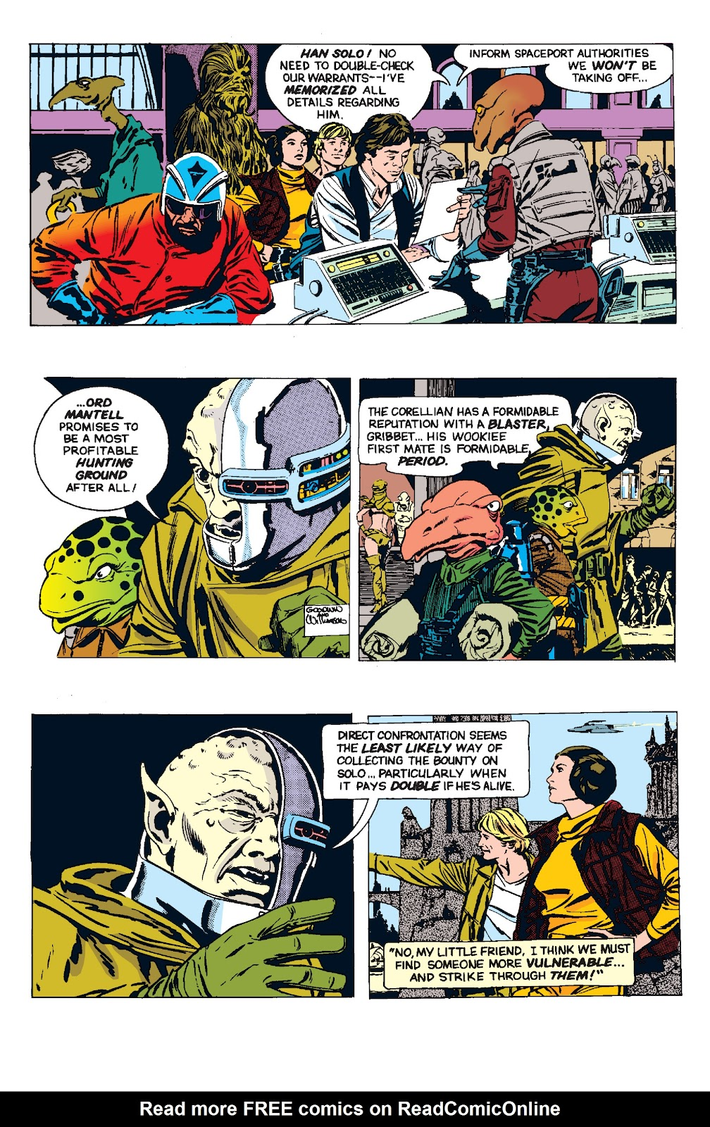 Read online Star Wars Legends: The Newspaper Strips - Epic Collection comic -  Issue # TPB (Part 4) - 96