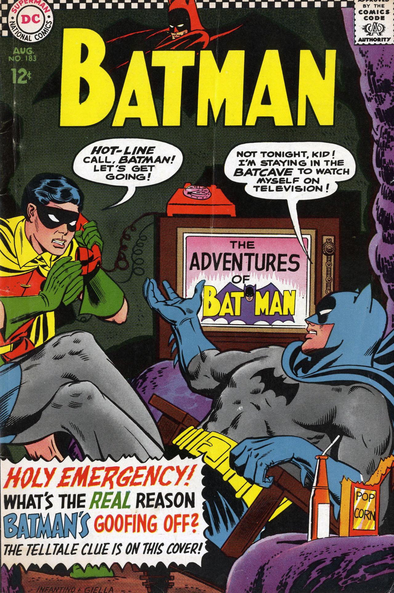 Batman (1940) 183 Page 1