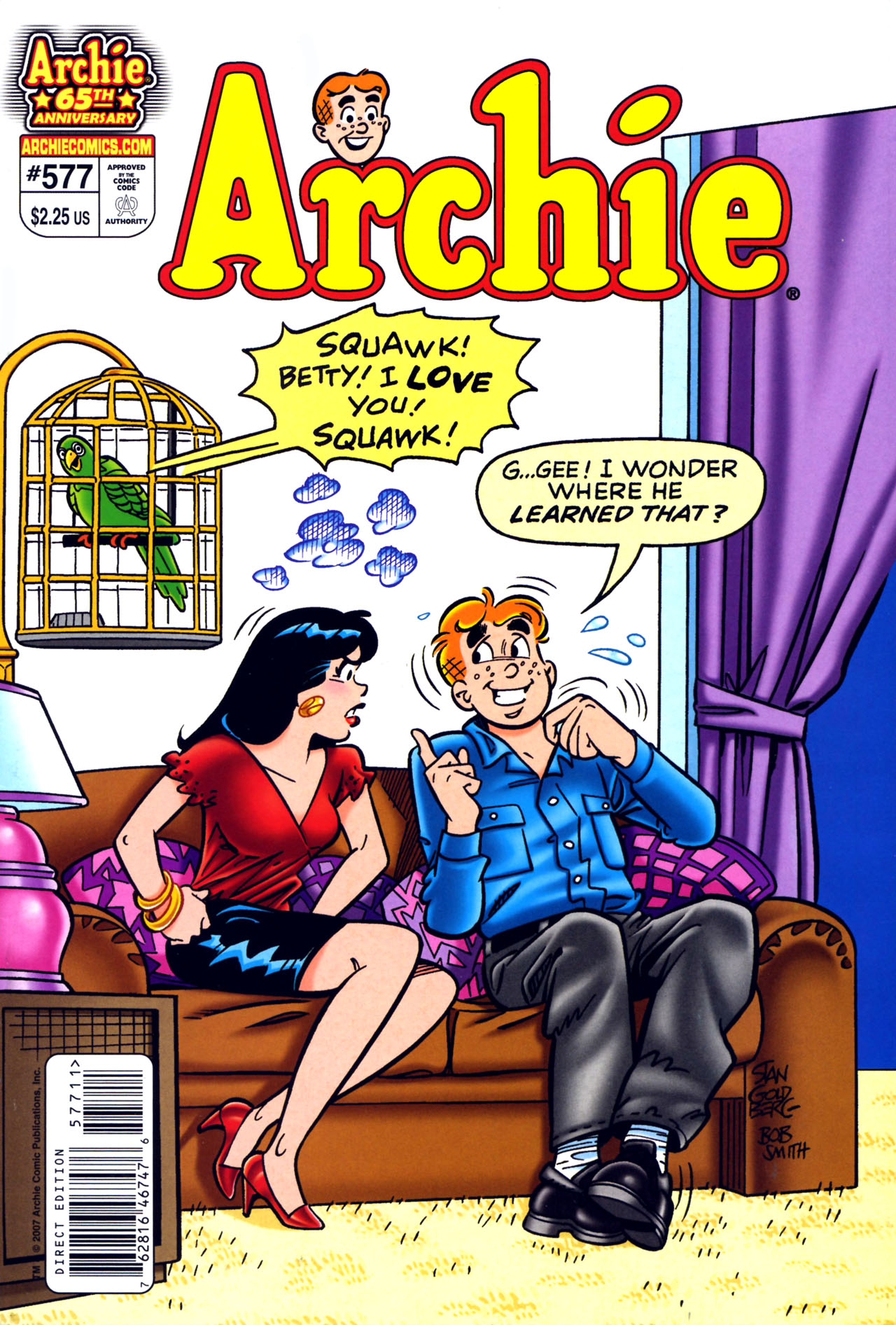 Read online Archie (1960) comic -  Issue #577 - 1