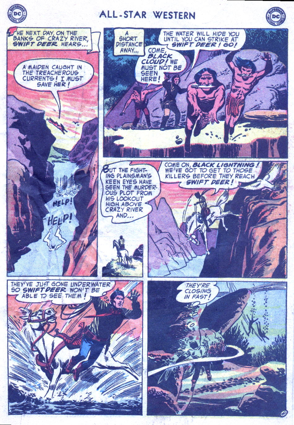 Read online All-Star Western (1951) comic -  Issue #77 - 31