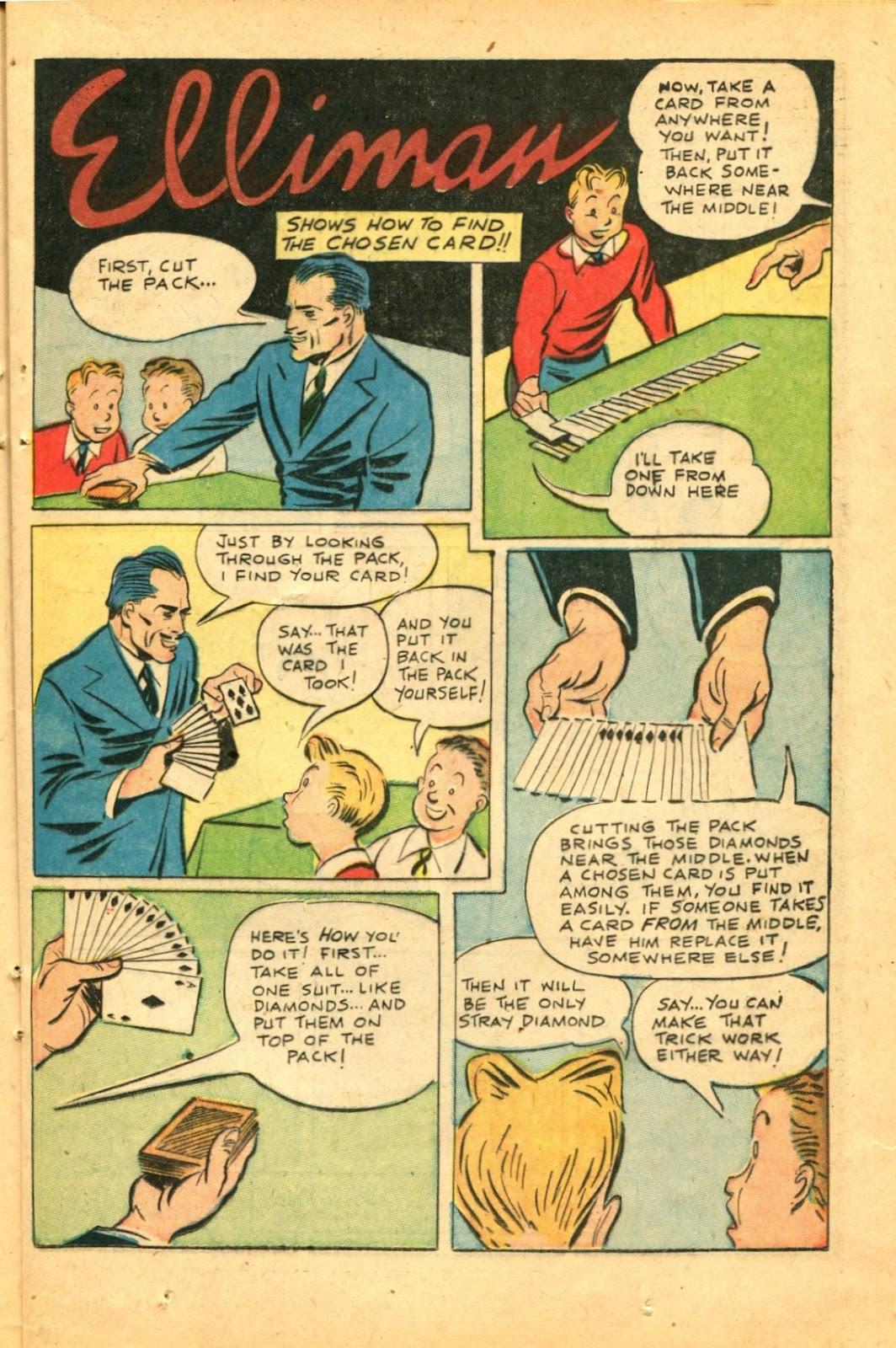 Read online Super-Magician Comics comic -  Issue #49 - 21