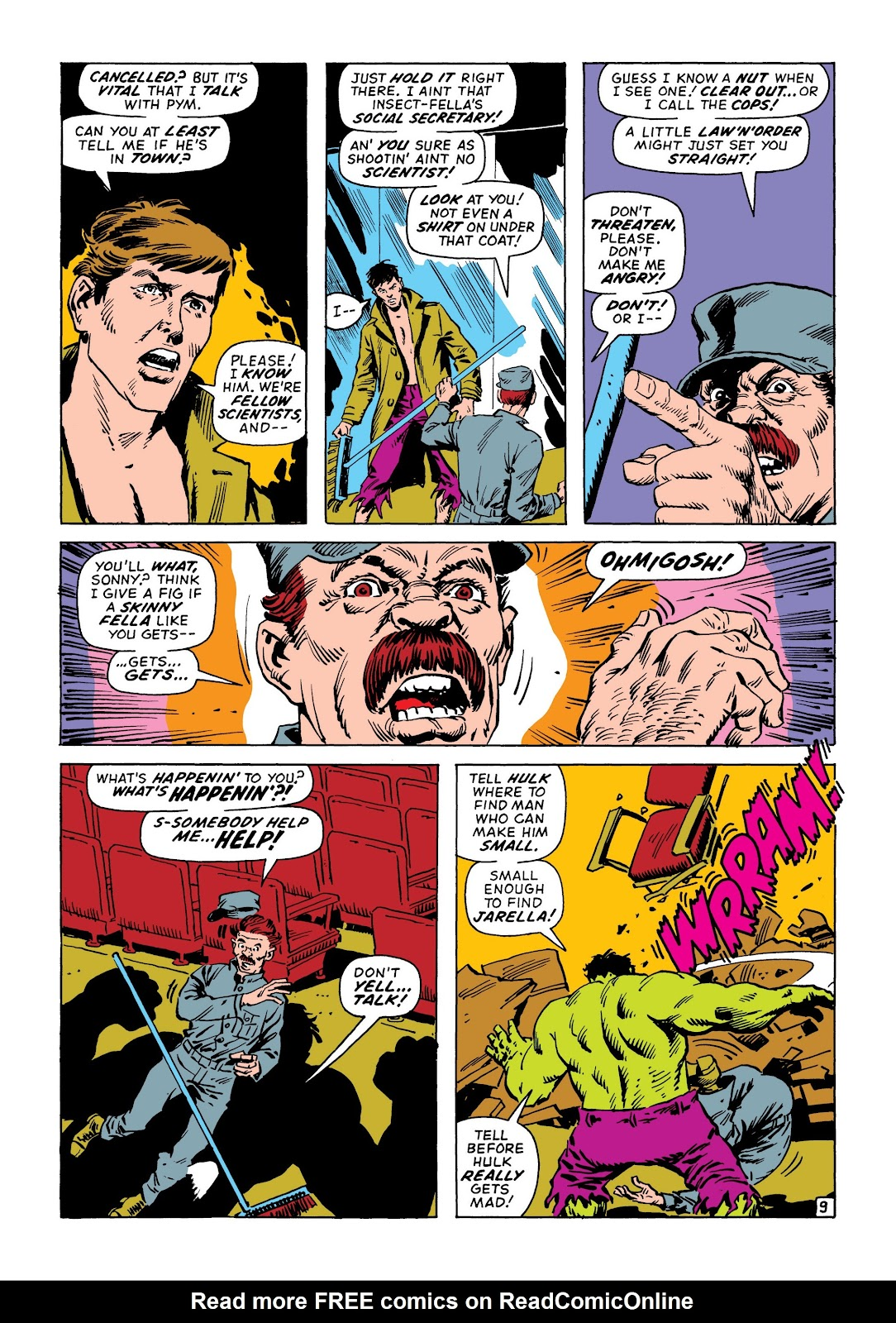 Read online Marvel Masterworks: The Incredible Hulk comic -  Issue # TPB 8 (Part 2) - 61