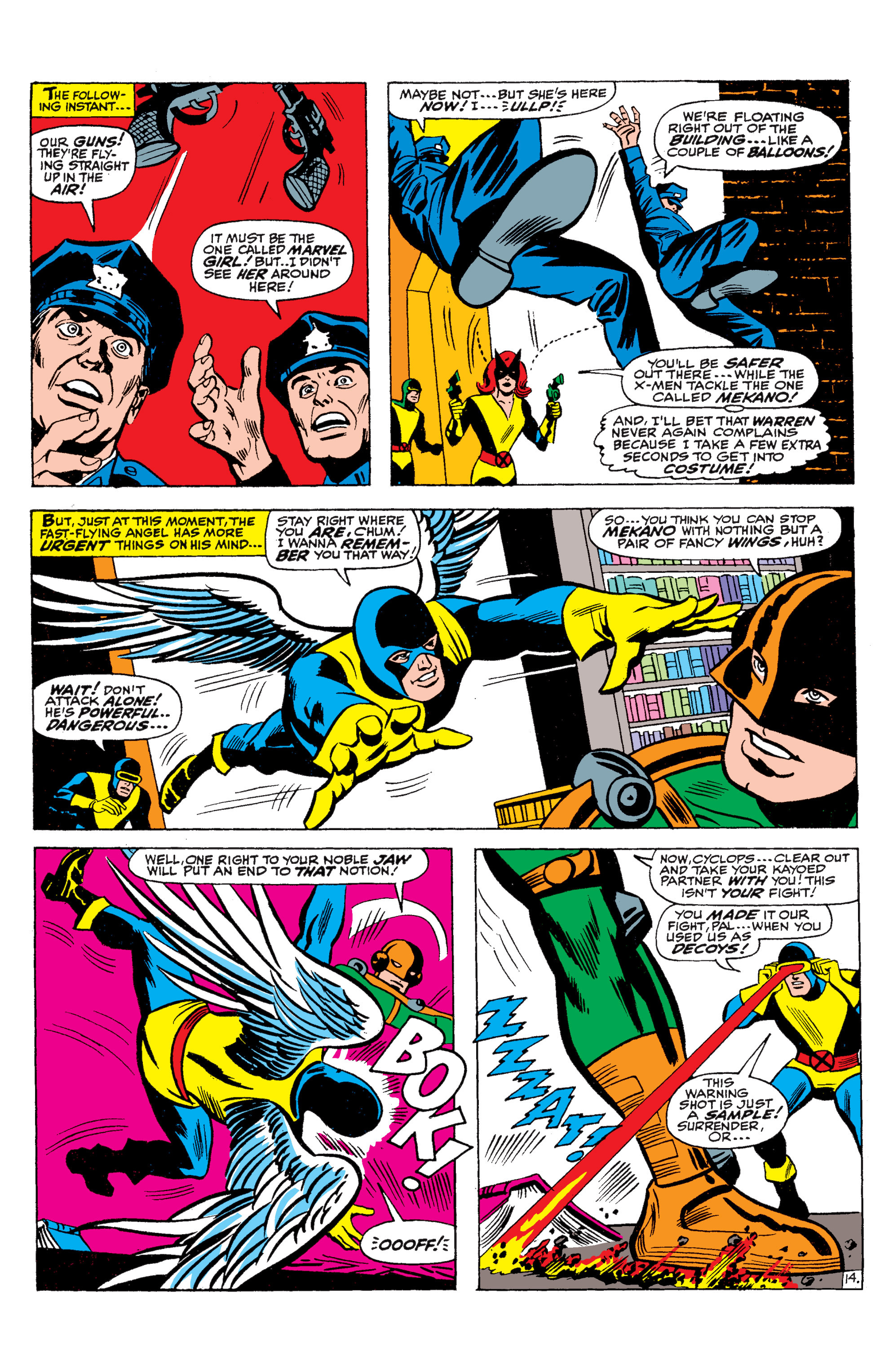 Read online Uncanny X-Men (1963) comic -  Issue #36 - 15