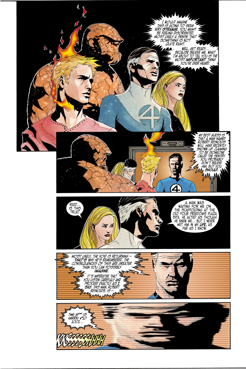 Read online Sentry (2000) comic -  Issue #3 - 5