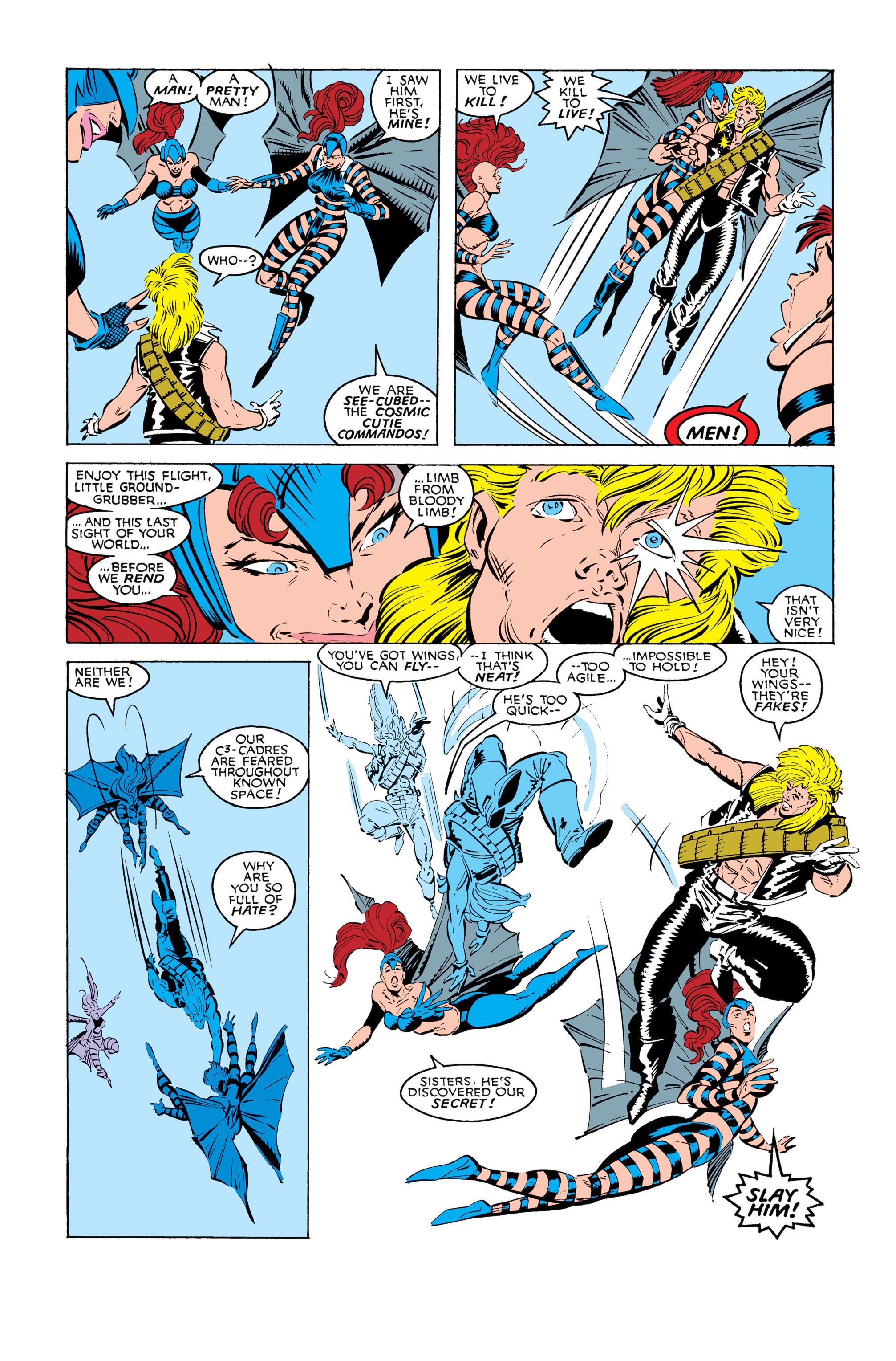 Read online Uncanny X-Men (1963) comic -  Issue #245 - 16