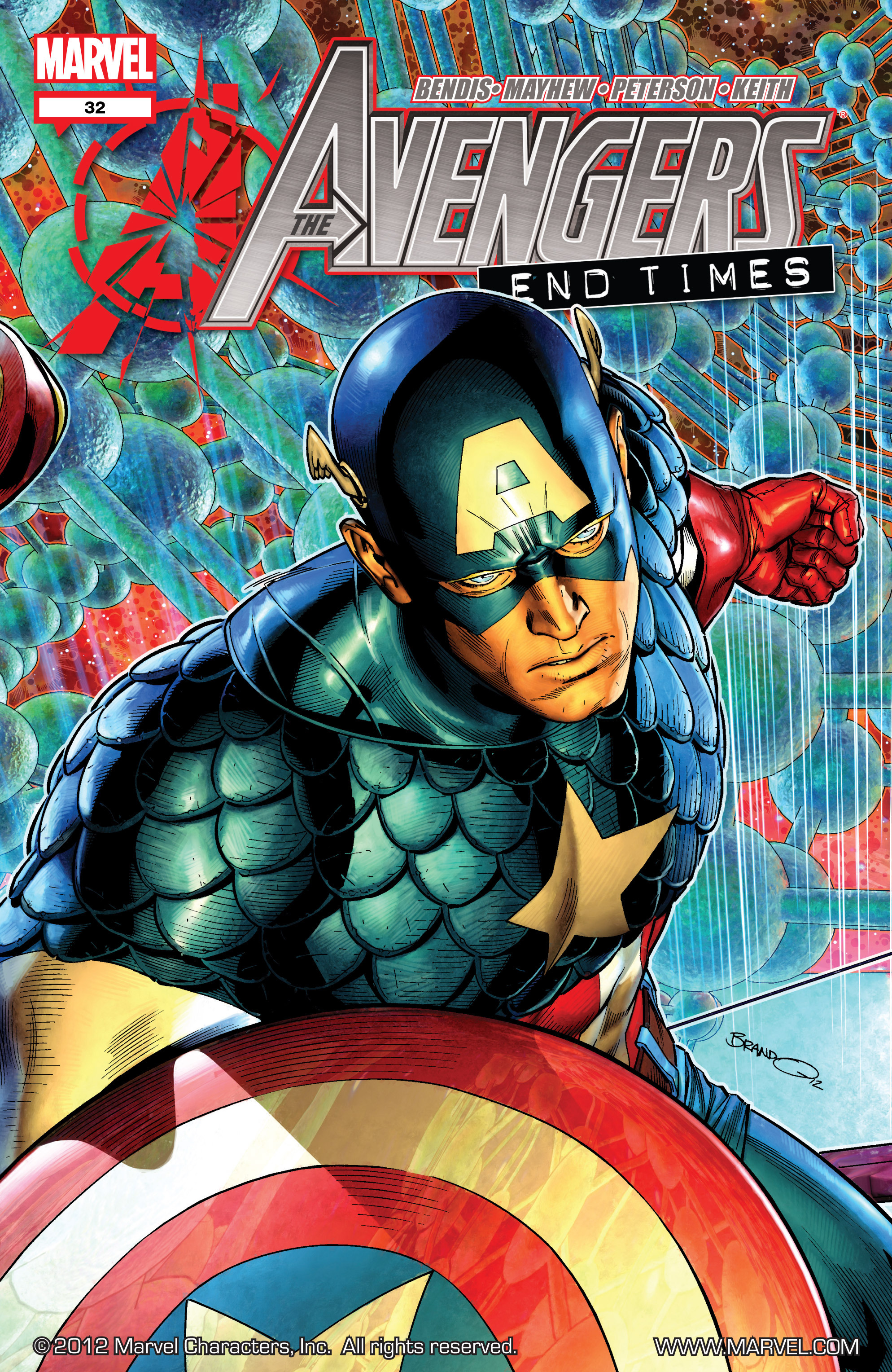 Read online Avengers (2010) comic -  Issue #32 - 1